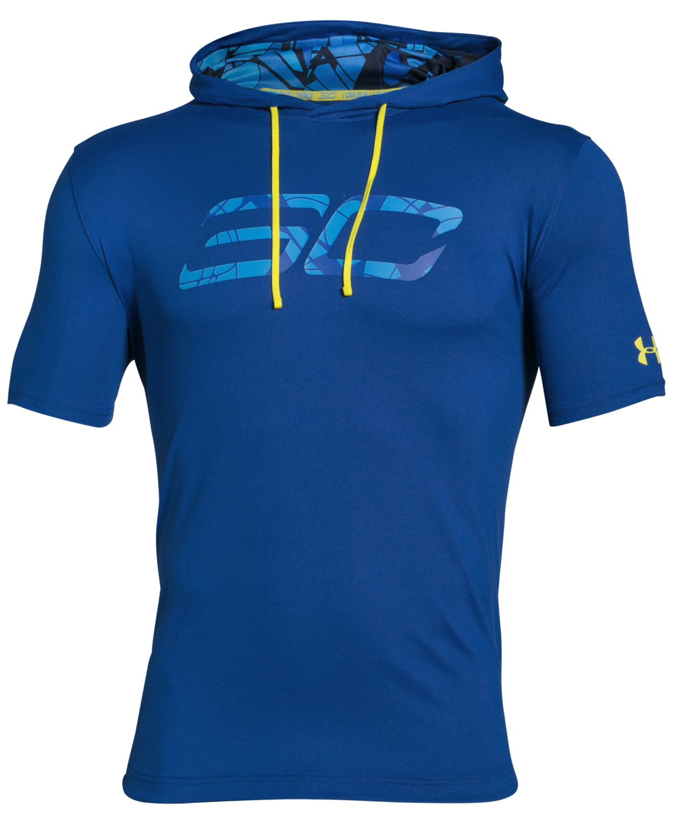 Under armour men 39 s steph curry sc30 basketball hooded t for Stephen curry under armour shirt