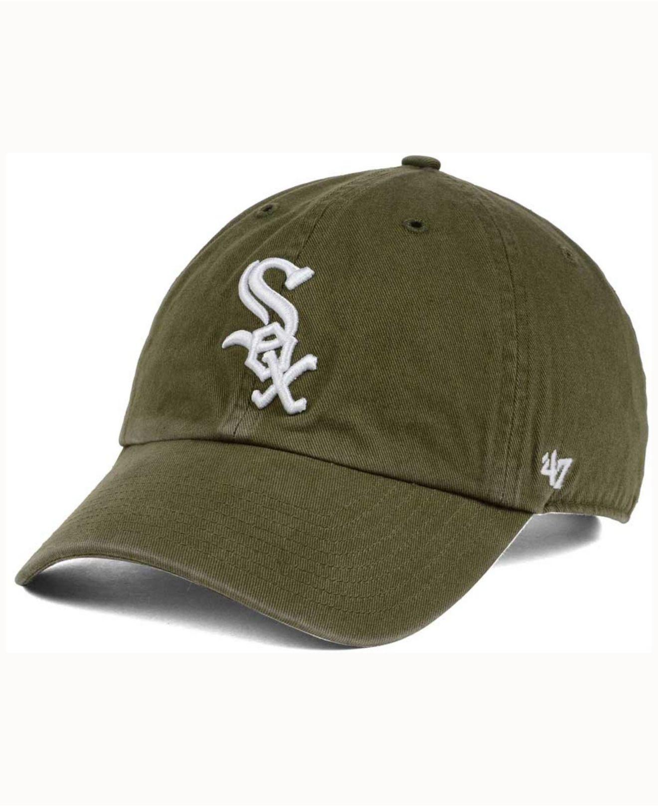 size 40 208cd a6b4b ... coupon code for 47 brand. womens green olive white clean up cap aa6ad  513f2