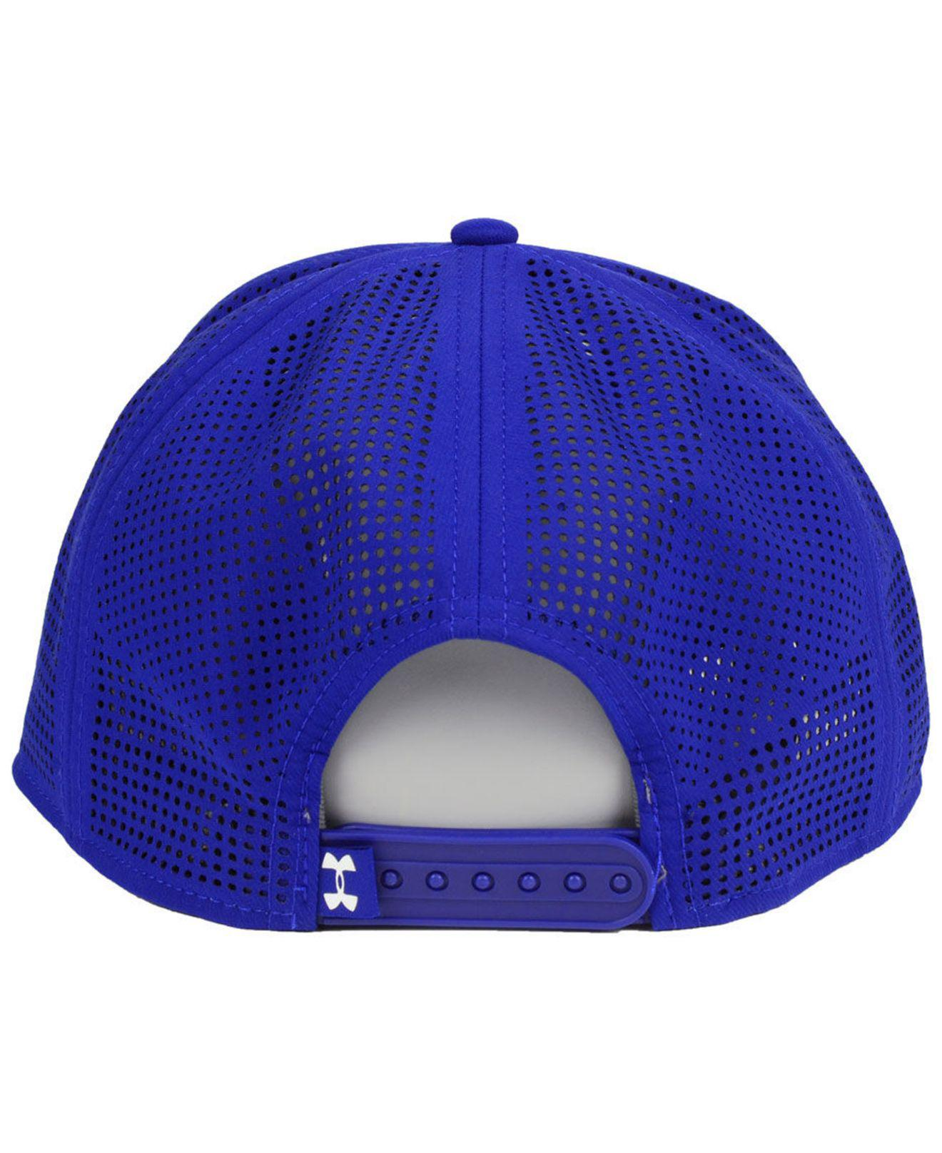 the latest f3239 6401a Lyst - Under Armour Los Angeles Dodgers Supervent Cap in Blue for Men