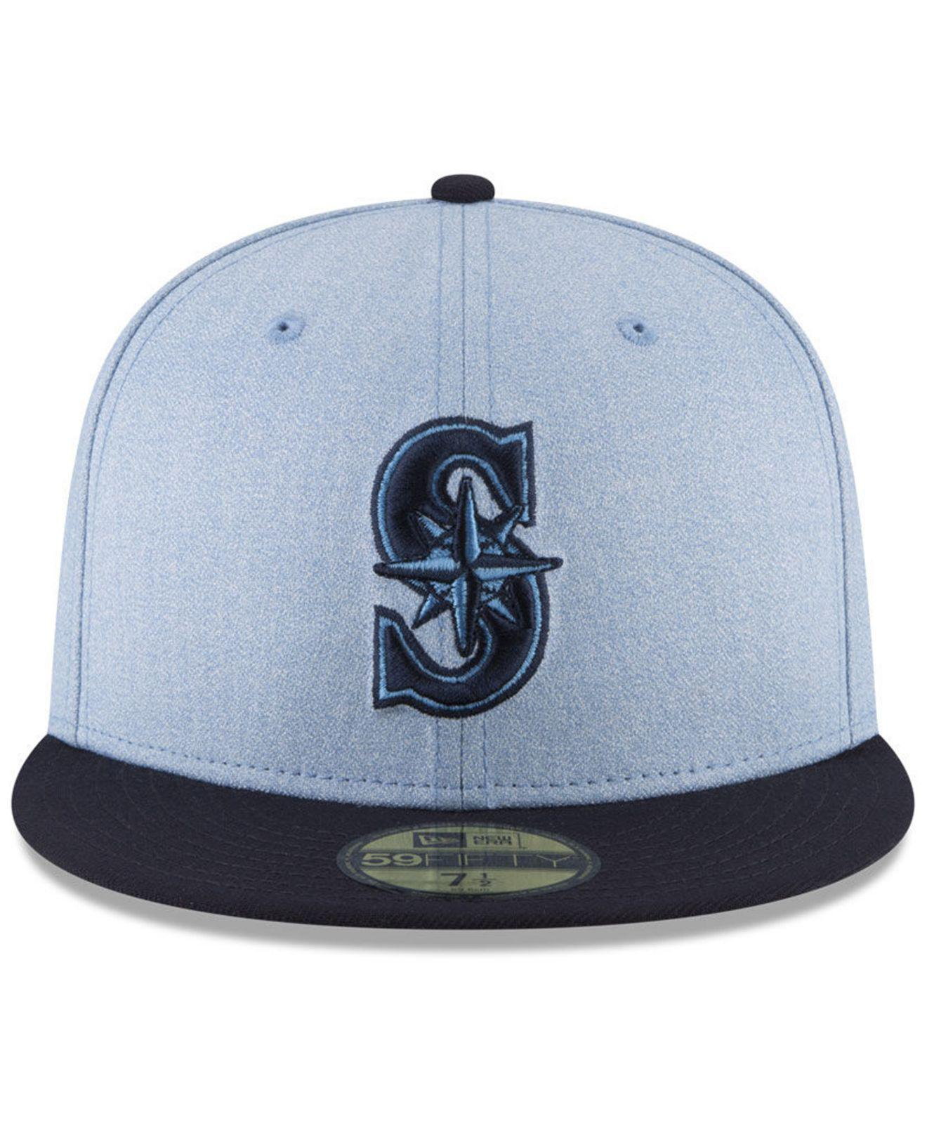 fae73e6ad ... new york mets mlb core classic 39thirty cap royalblue 89dbd 69f2a; shop lyst  ktz seattle mariners fathers day 59fifty fitted cap 2018 in blue for men ...