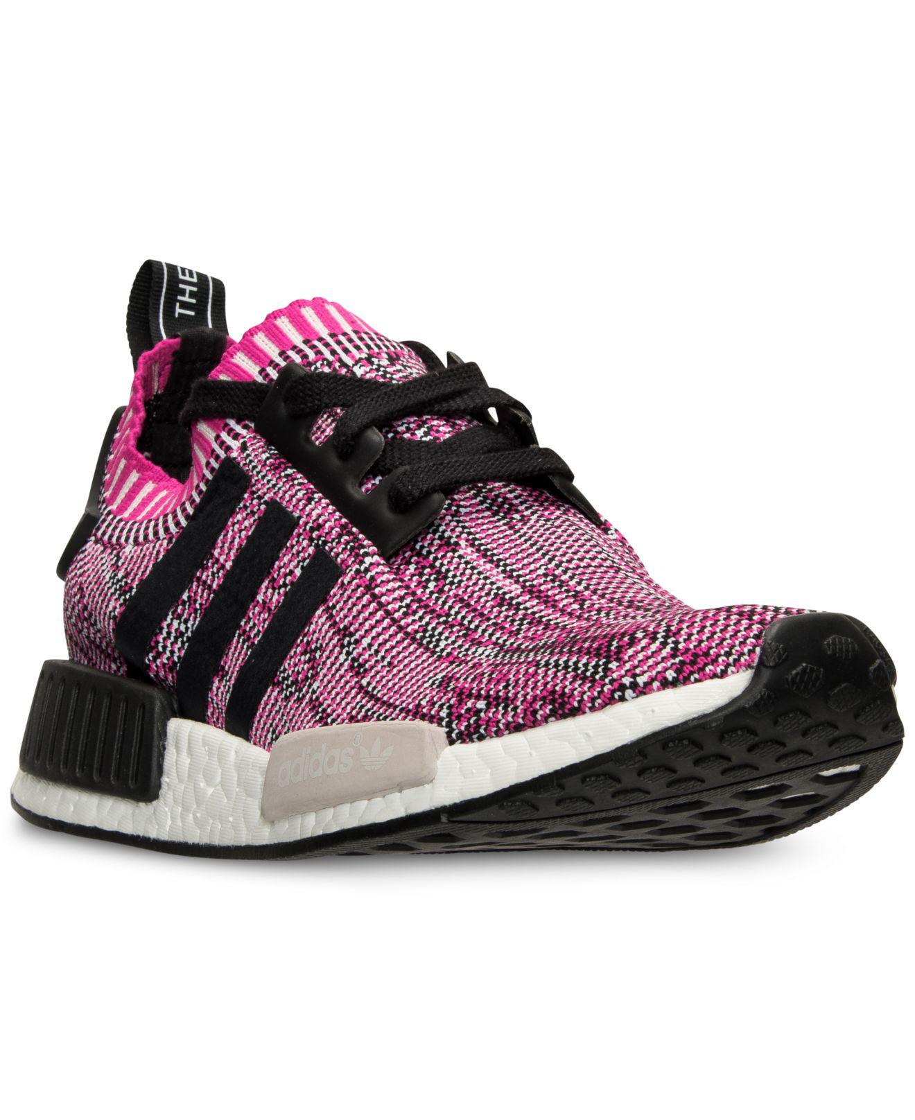 8290e27087da9 Lyst - adidas Women s Nmd Xr1 Primeknit Casual Sneakers From Finish ...