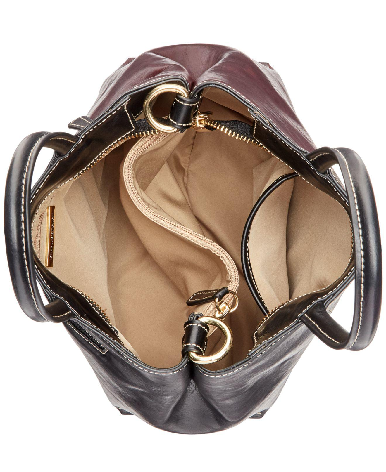 Lyst - Giani Bernini Tricolor Glazed Bucket Bag