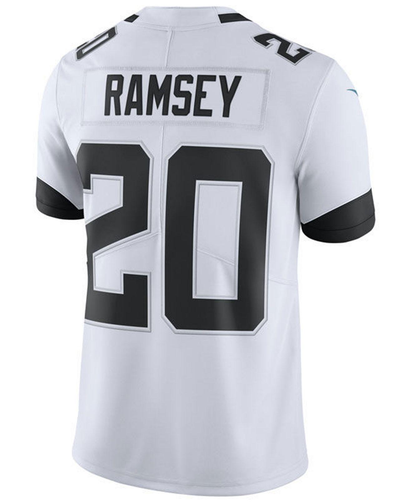 cheap for discount dc015 eff63 Men's White Jalen Ramsey Jacksonville Jaguars Vapor Untouchable Limited  Jersey