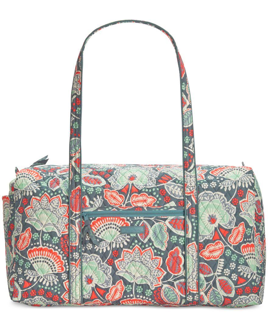 Vera Bradley Large Duffle 2.0 In Floral (Nomadic Floral) | Lyst