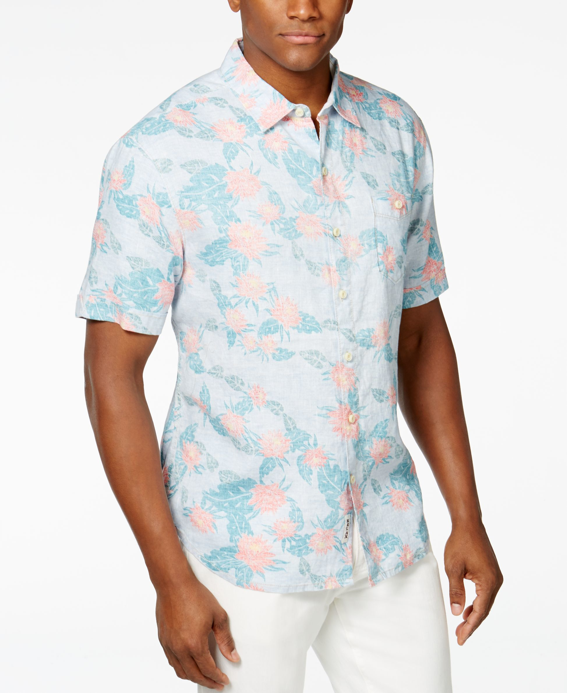 Uniqlo Mens Linen Shirt