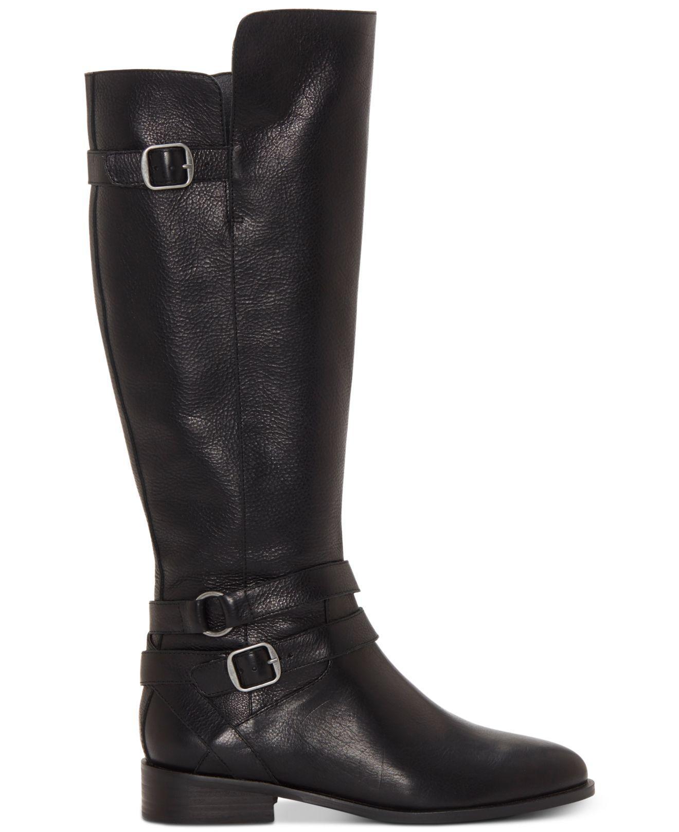 38e83820f9e Women's Black Paxtreen Wide Calf Knee High Boot