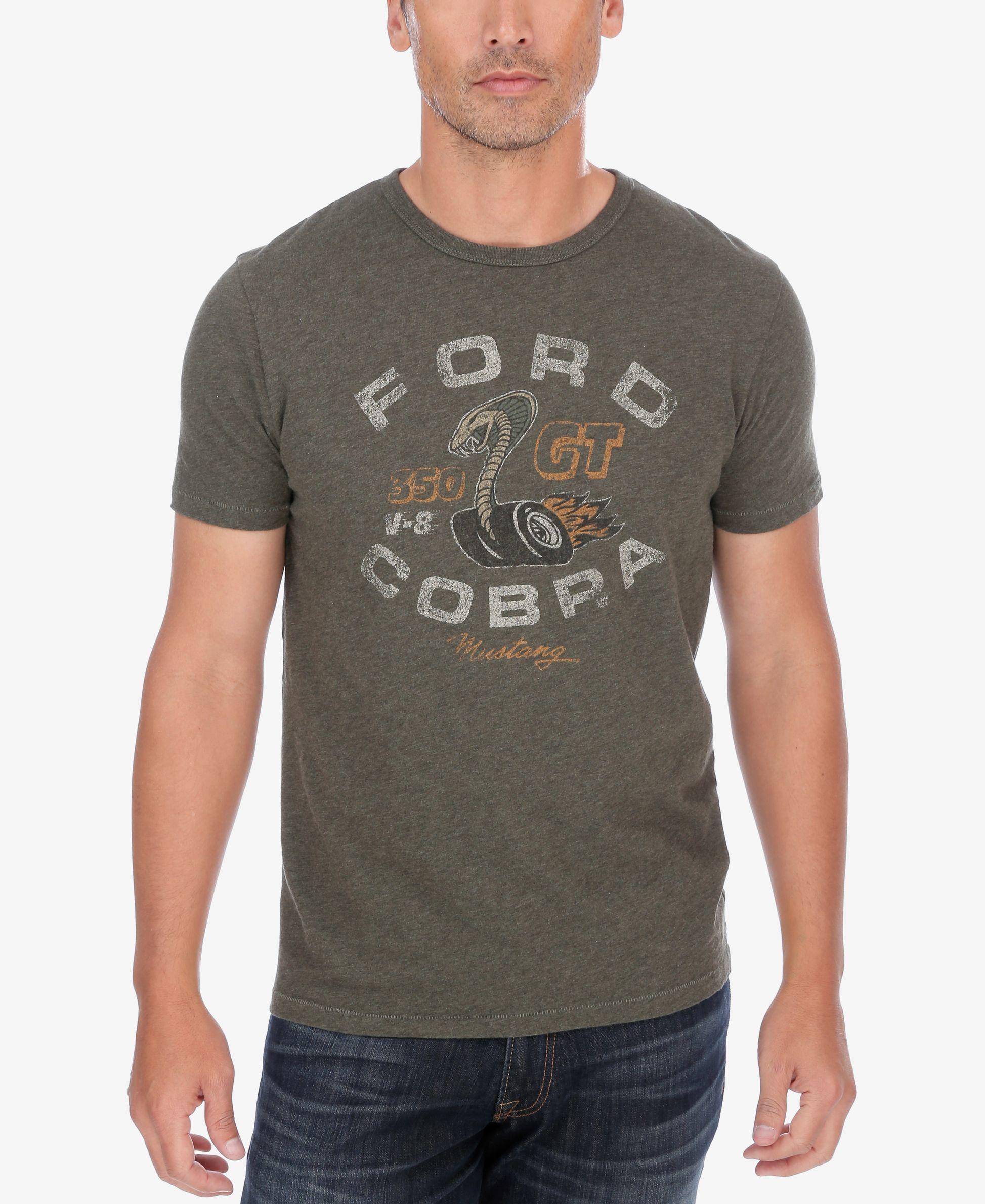 Lucky brand men 39 s ford cobra bball t shirt in gray for men lyst - Chaise cobra studio pierre cardin ...