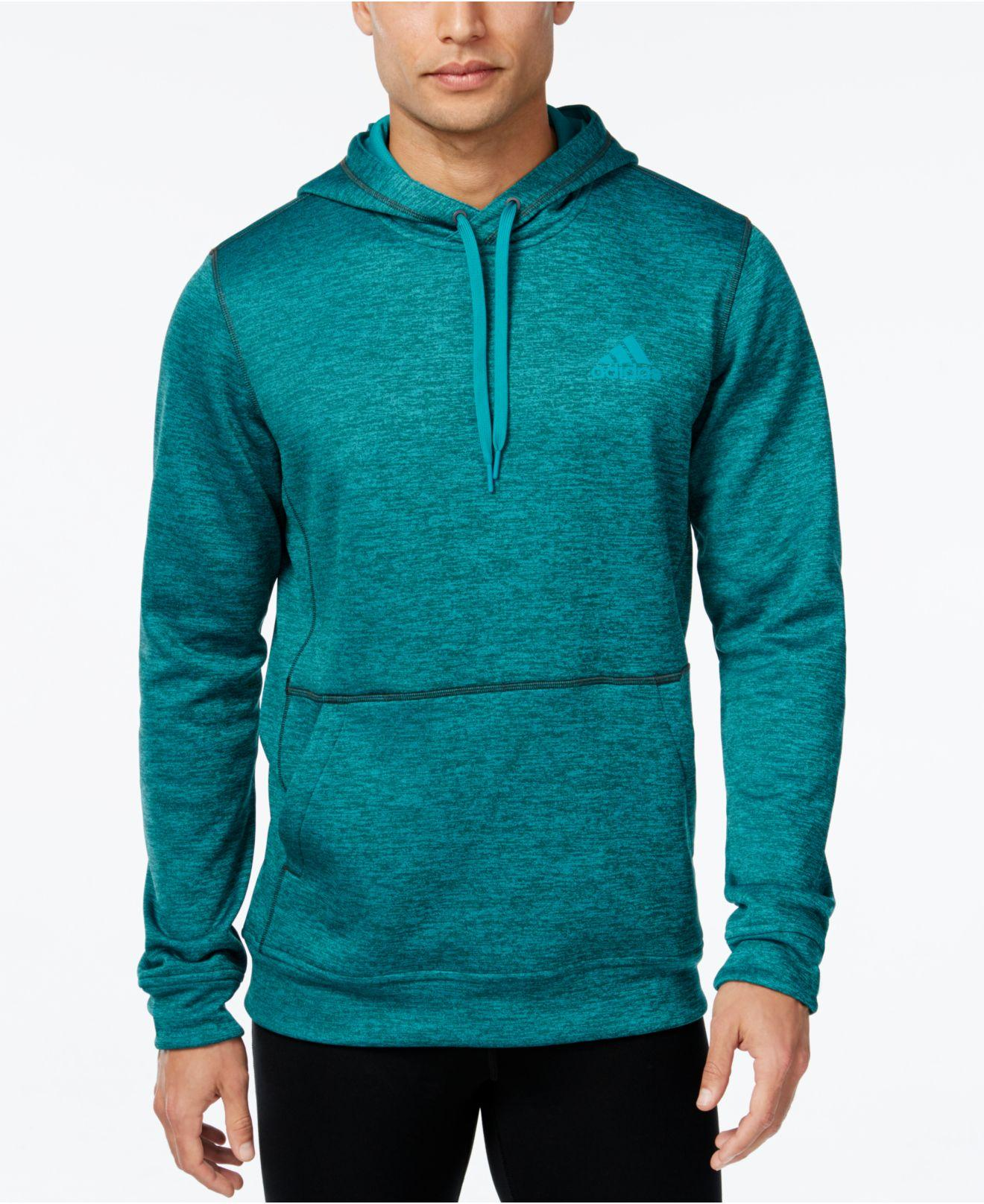 lyst adidas originals men 39 s climawarm pullover hoodie in. Black Bedroom Furniture Sets. Home Design Ideas