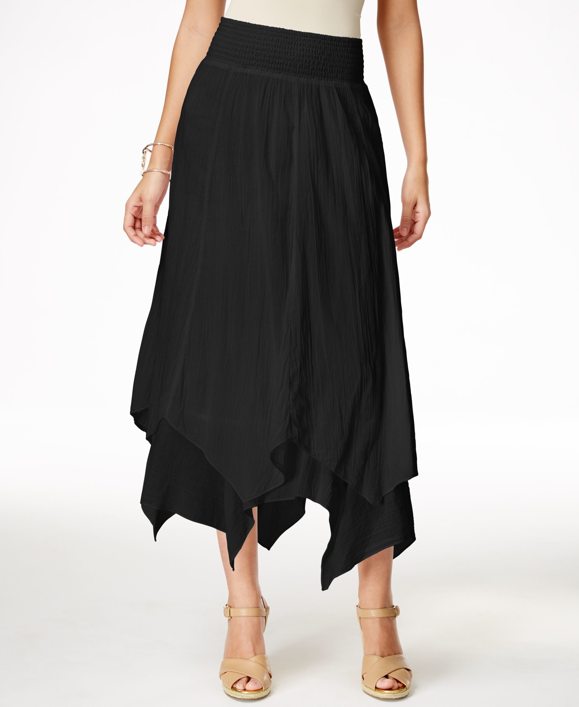 style co handkerchief hem skirt only at macy s in