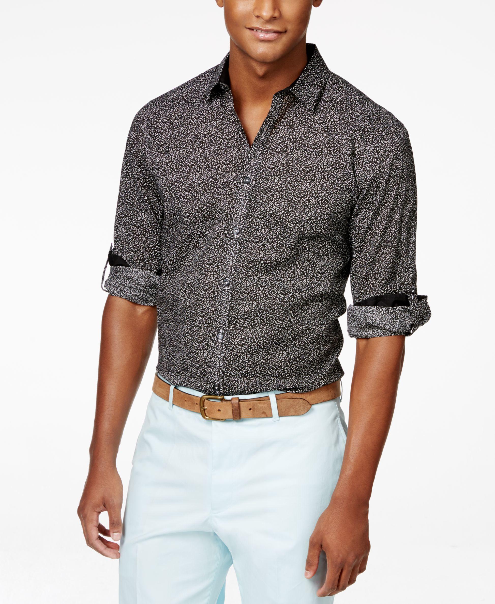 inc international concepts s sleeve jason shirt