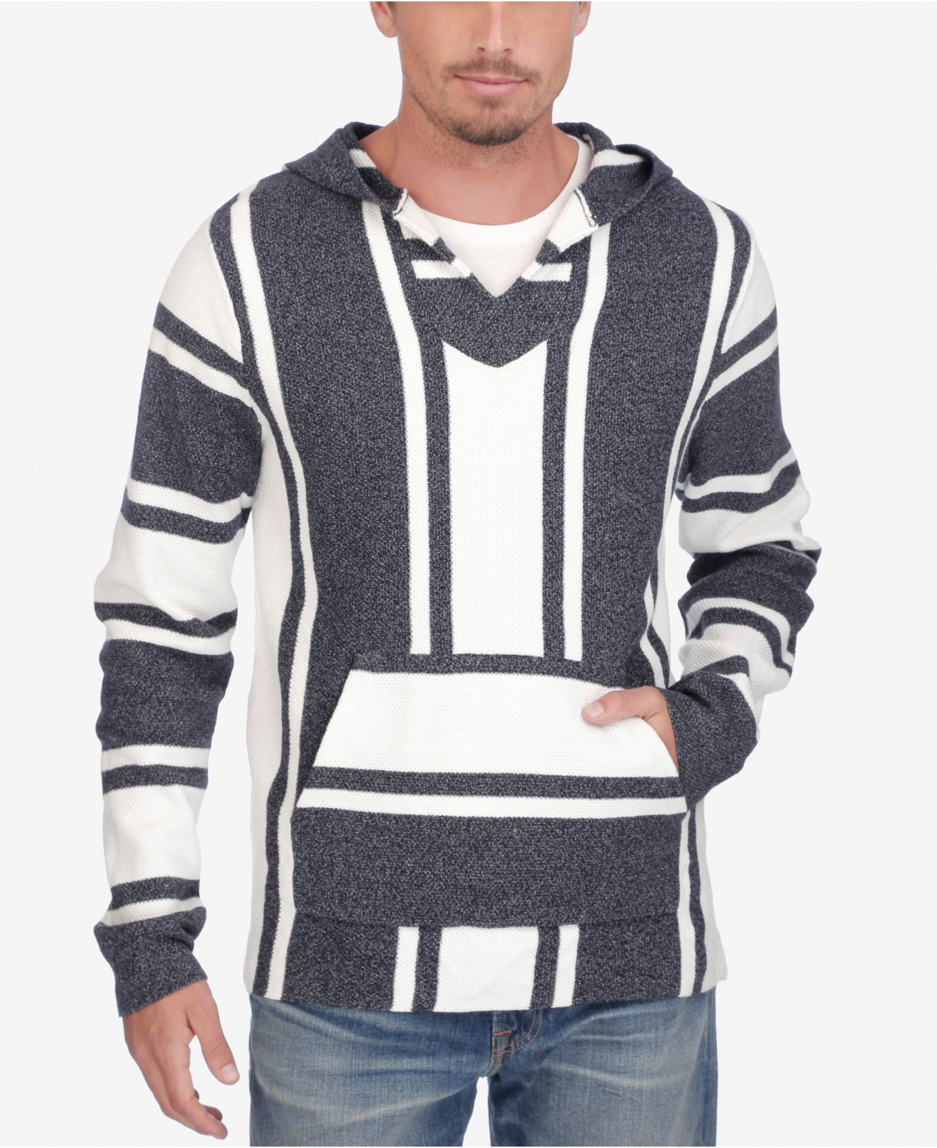 Lucky brand Men's Baja Hoodie in Blue for Men (Blue and ...