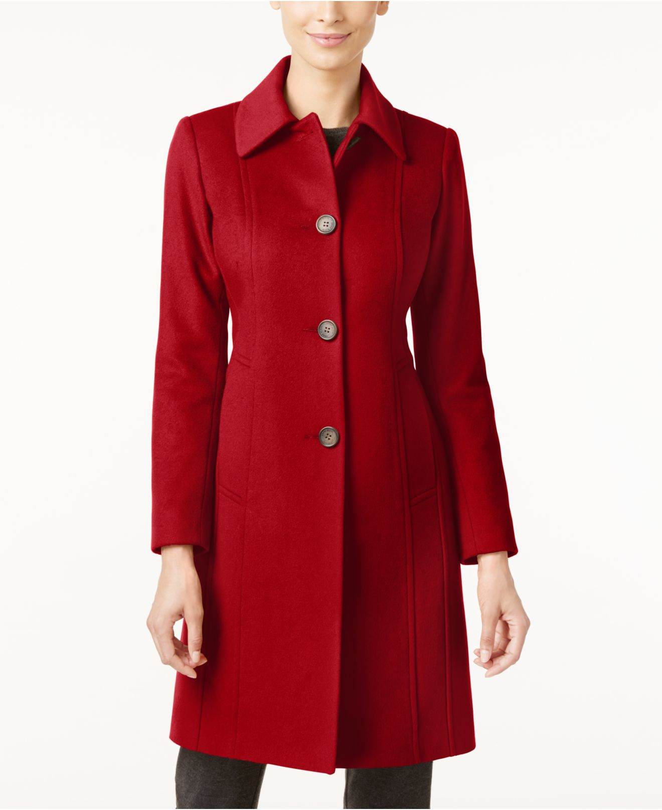how to create a slit in coat lining