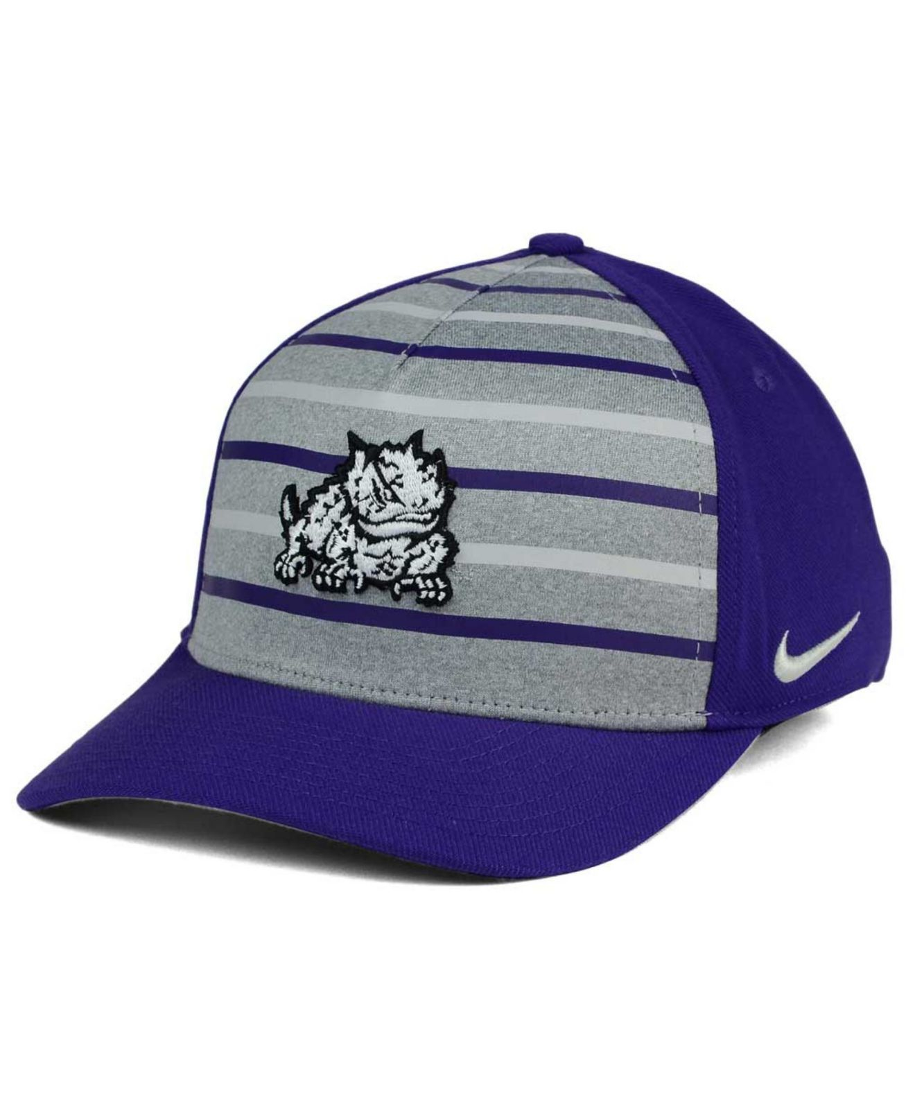 d670ad86336 Lyst - Nike Tcu Horned Frogs Classic Verbiage Swoosh Cap in Blue for Men