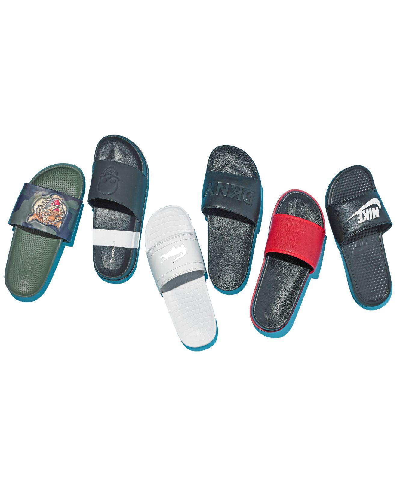 969474a7a460 Lyst - Polo Ralph Lauren Cayson Sport Slide Sandals in Green