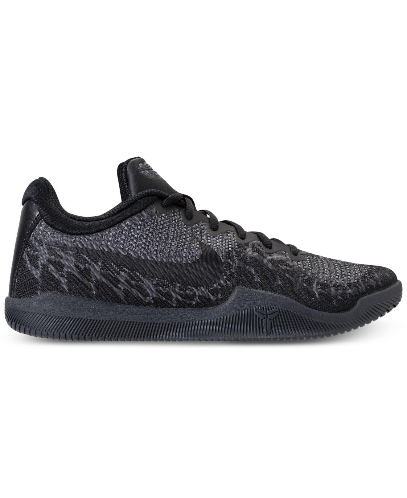9ed32a83fb ... Lyst - Nike Men s Kobe Mamba Rage Basketball Sneakers From Finish .