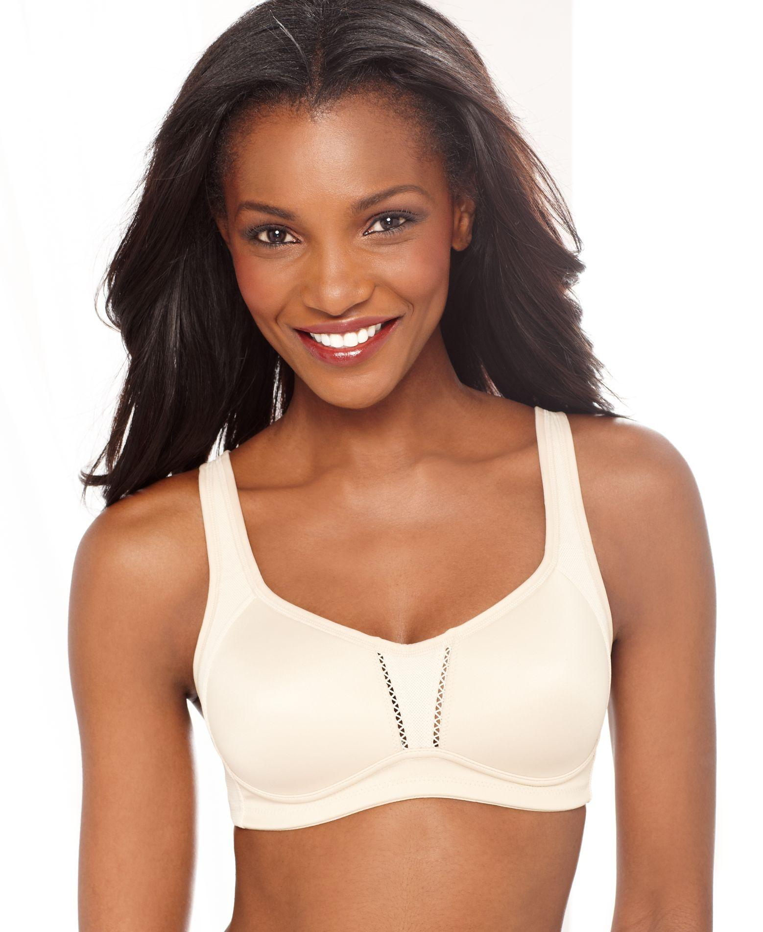 7bd56be244 Lyst - Wacoal Low-impact Clear Comfort Contour Sports 856114 in White
