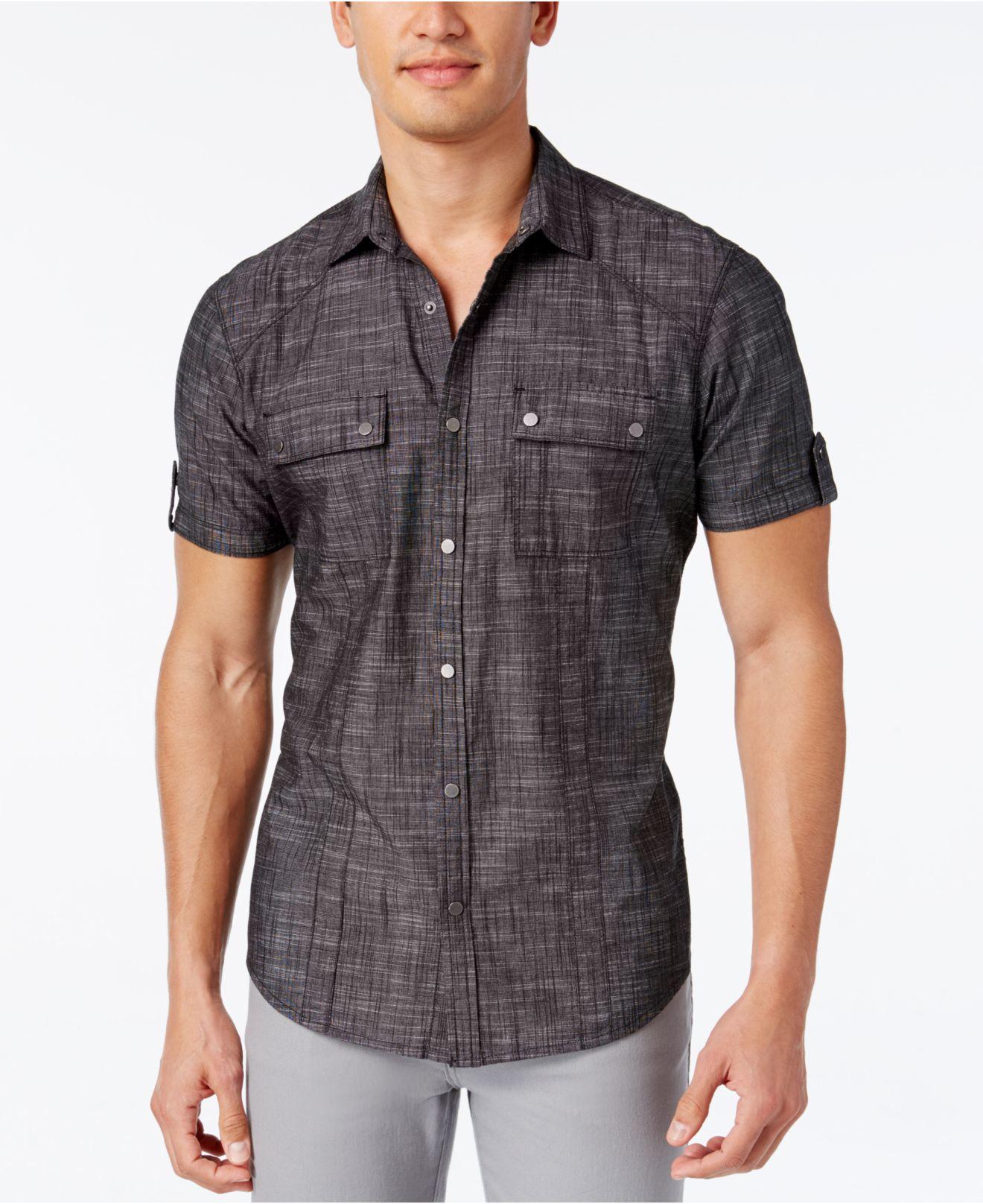 inc international concepts men 39 s helix short sleeve shirt