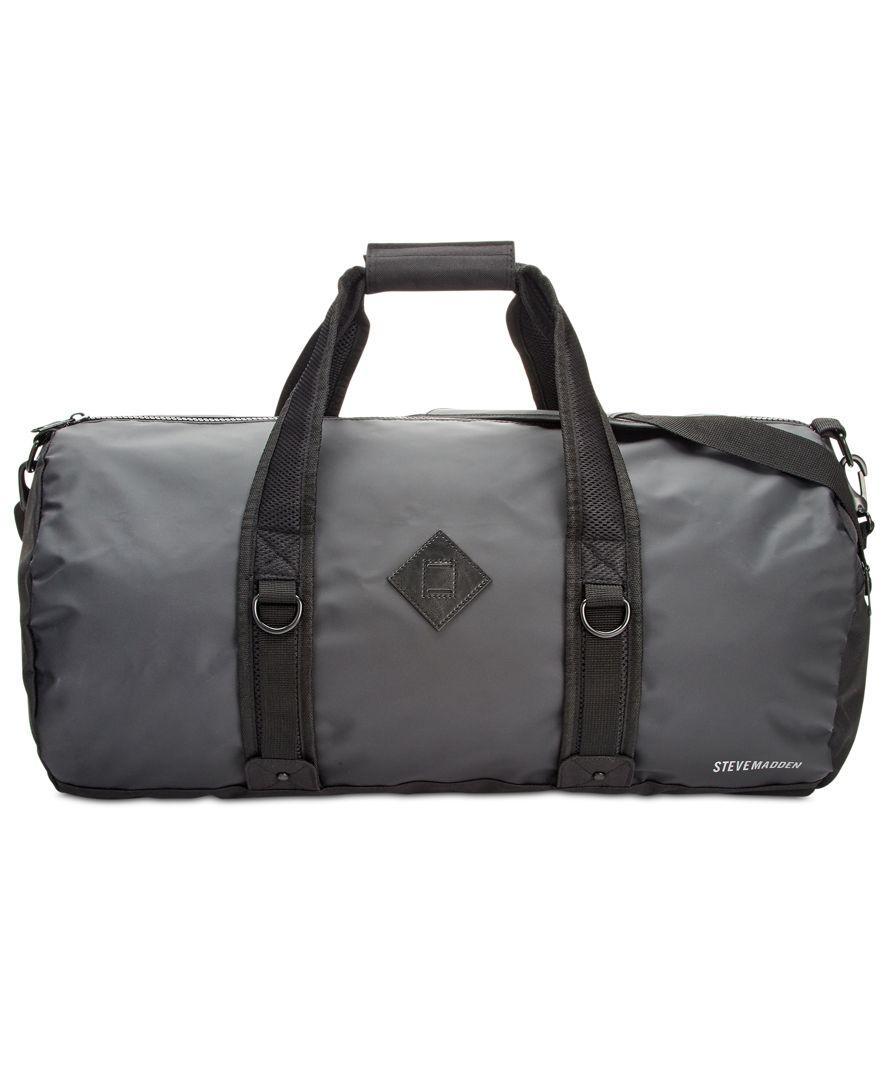 Steve madden Men's Duffel Bag in Black for Men