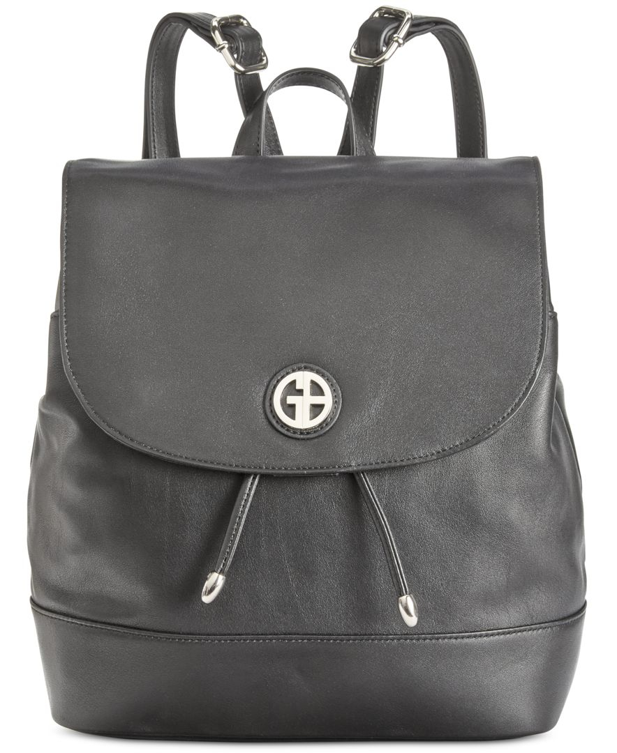 giani bernini nappa leather backpack only at macys in