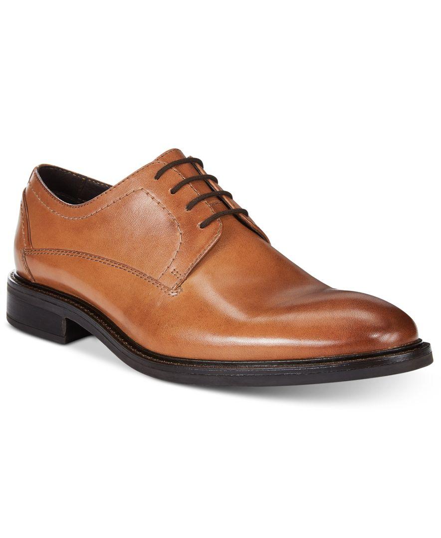alfani s greg plain toe derbys only at macy s in