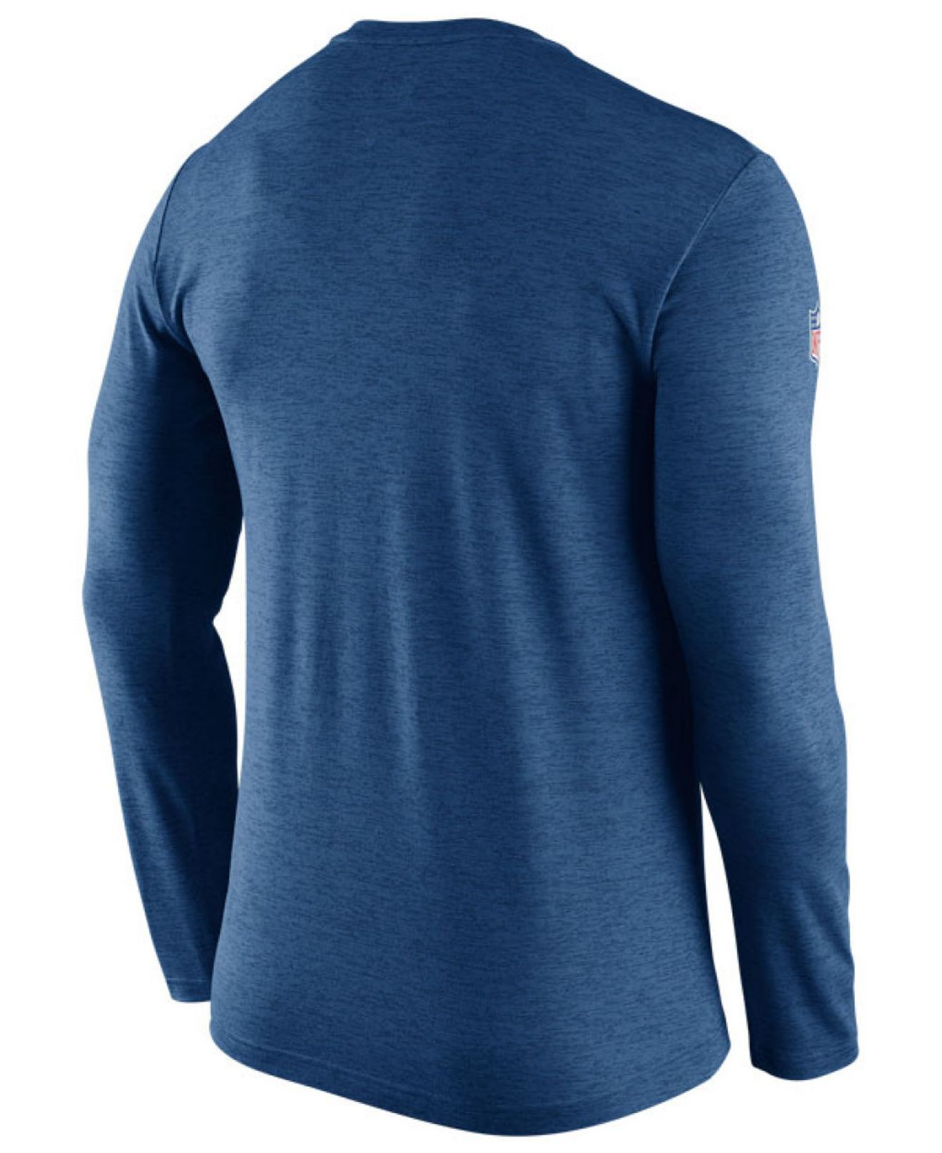 Nike Men 39 S Indianapolis Colts Dri Fit Touch Long Sleeve T