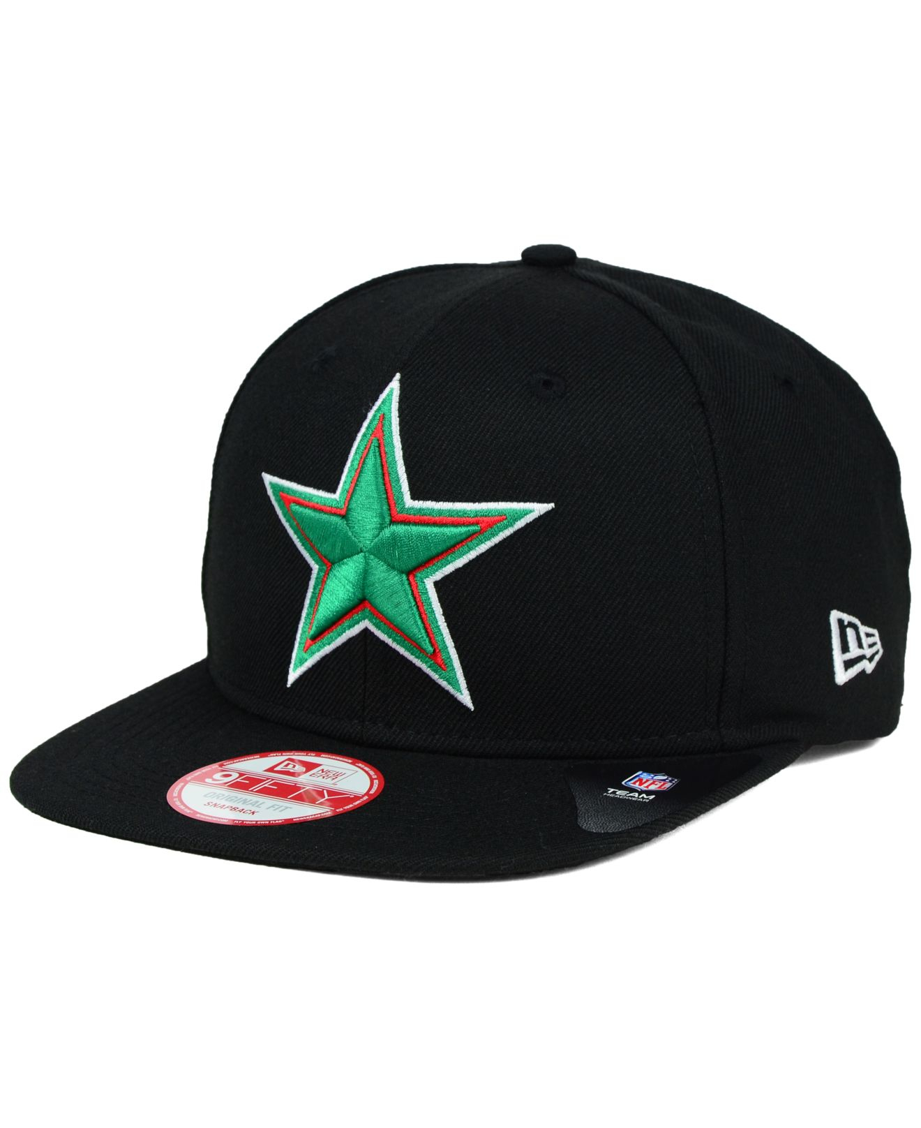 6675914a28a63 ... hat new era 39thirty nfl 2017 kickoff fitted navy e06ab 9efc4  promo  code for lyst ktz dallas cowboys mexico heritage 9fifty snapback cap in  cc099 50b14