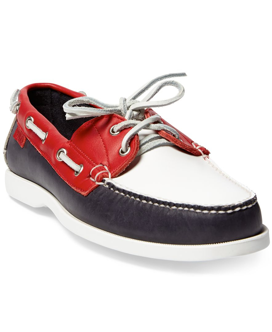 polo ralph s team usa ceremony boat shoes in
