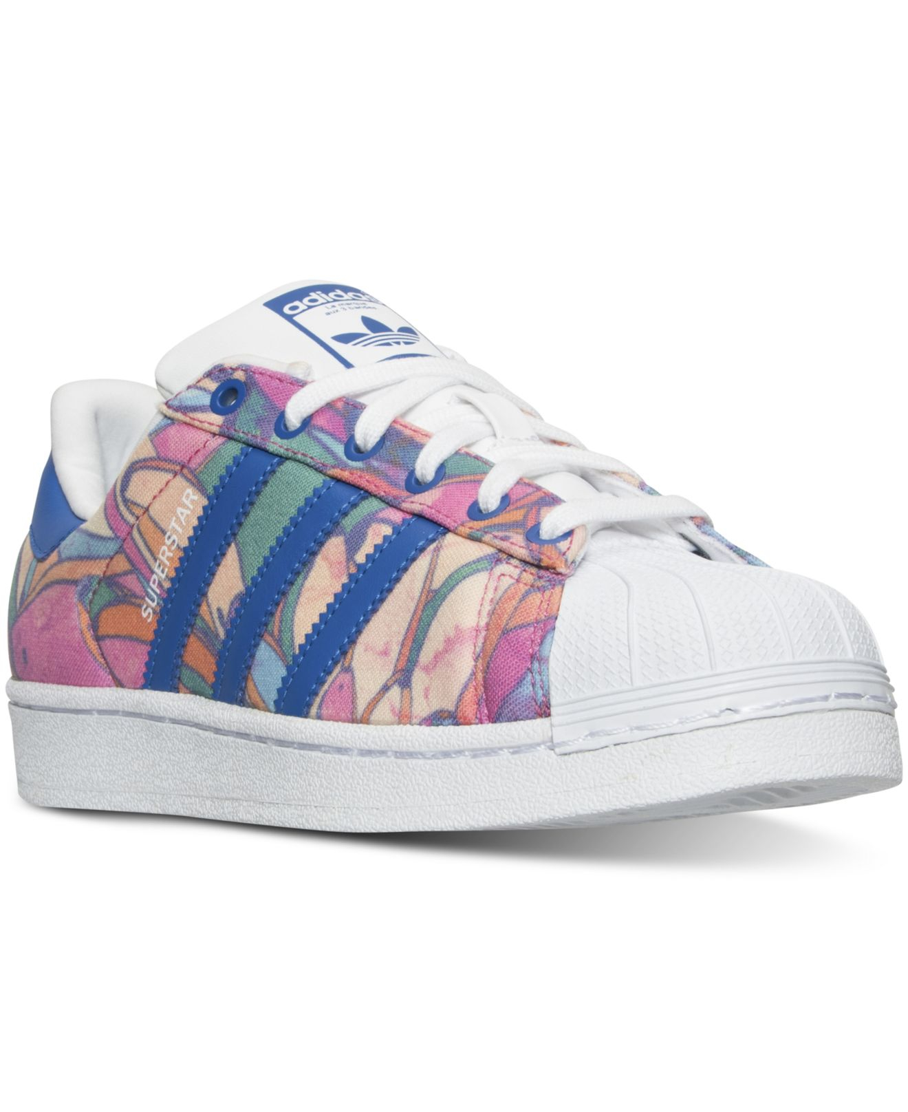 low priced 0f11e afe81 ... aliexpress lyst adidas originals womens superstar farm casual sneakers  from f2b1e 62268