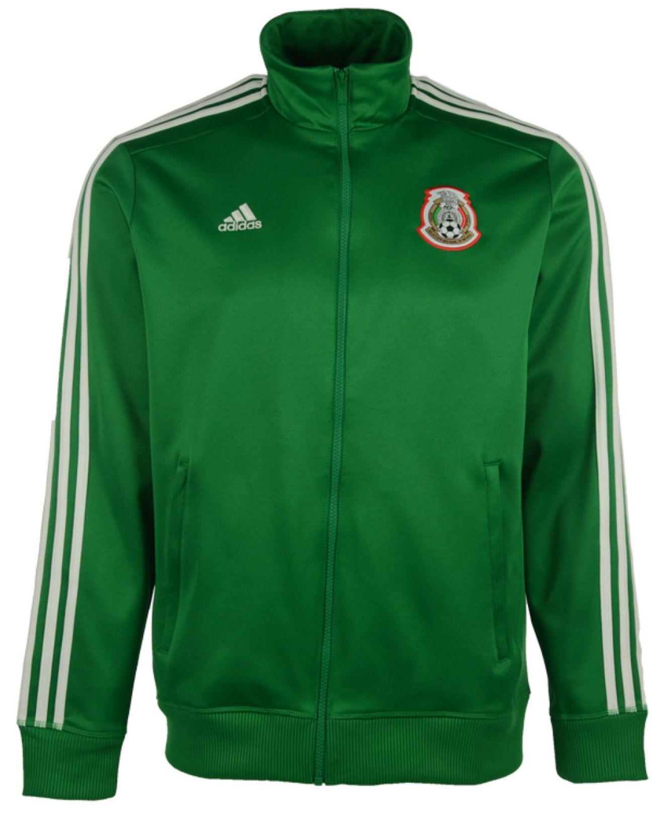 separation shoes 68adb 9e970 Adidas Originals - Green Men s Mexico National Team Full-zip Track Jacket  for Men -