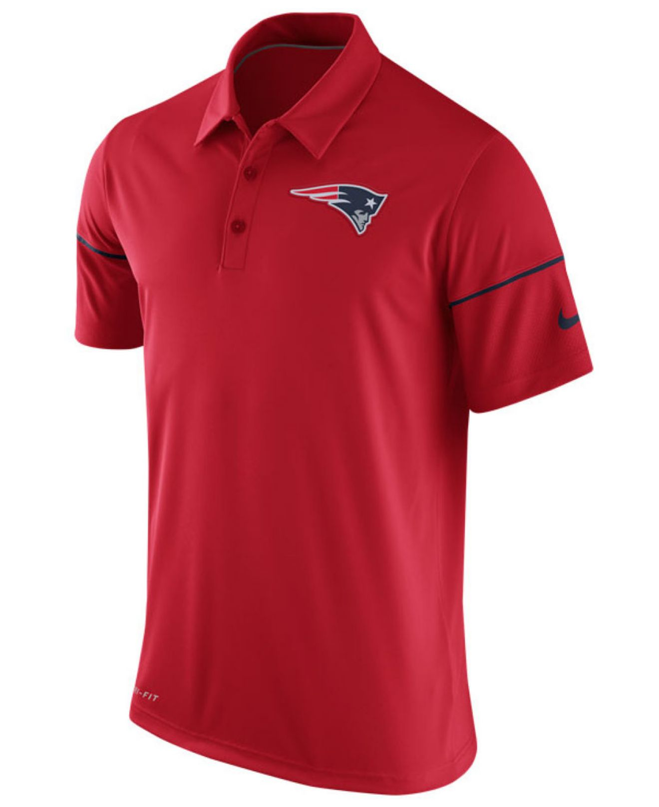 lyst nike men 39 s new england patriots team issue polo