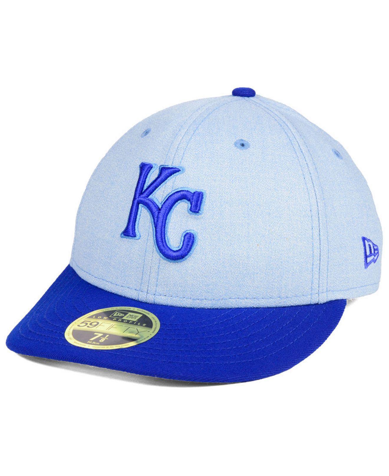 the best attitude 90ce0 d6b8c KTZ. Men s Blue Kansas City Royals Father s Day Low Profile 59fifty Cap