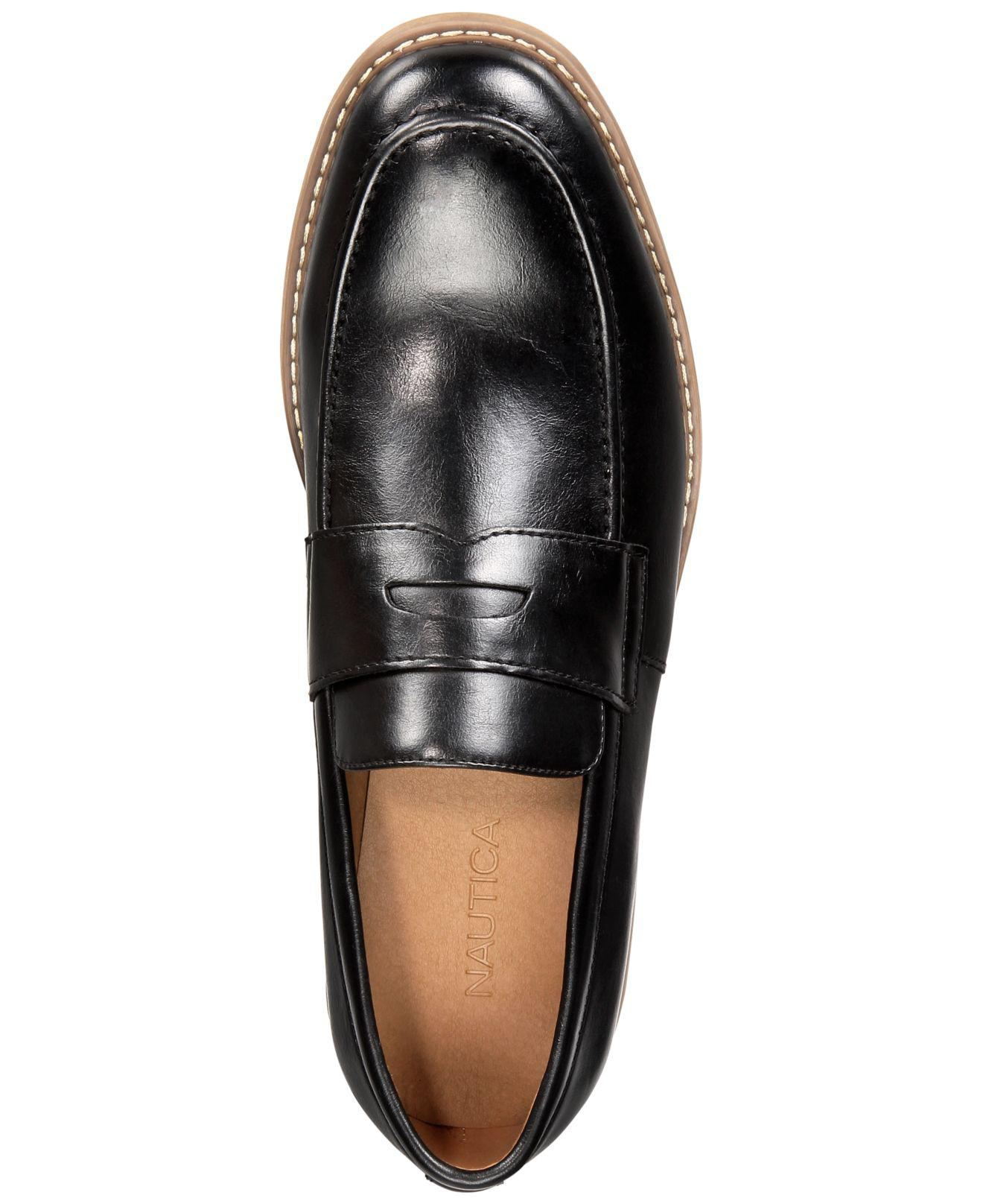 448d015522f Lyst - Nautica Elias Penny Loafers in Black for Men