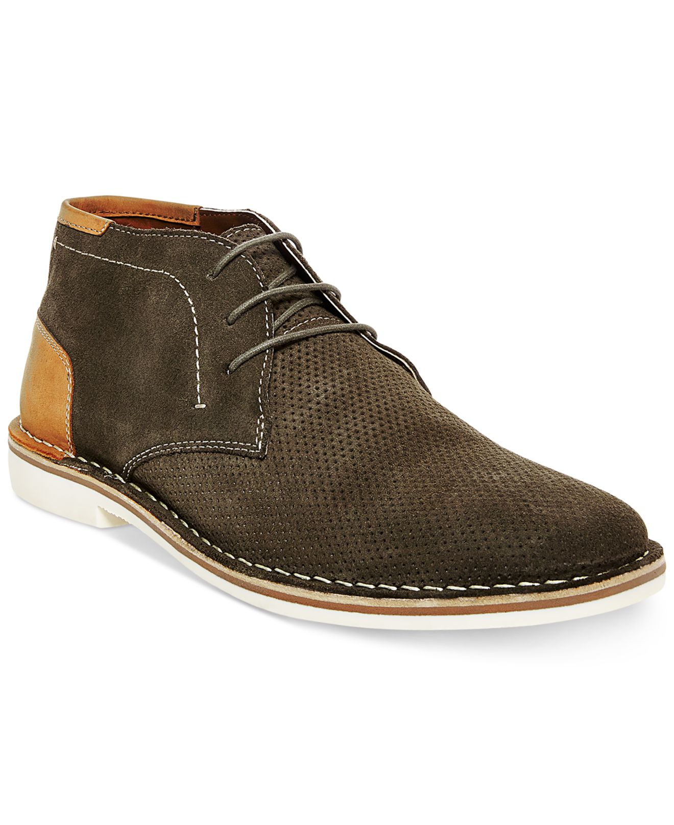 Ultra Soft Brown Leather Casual Shoes Mens
