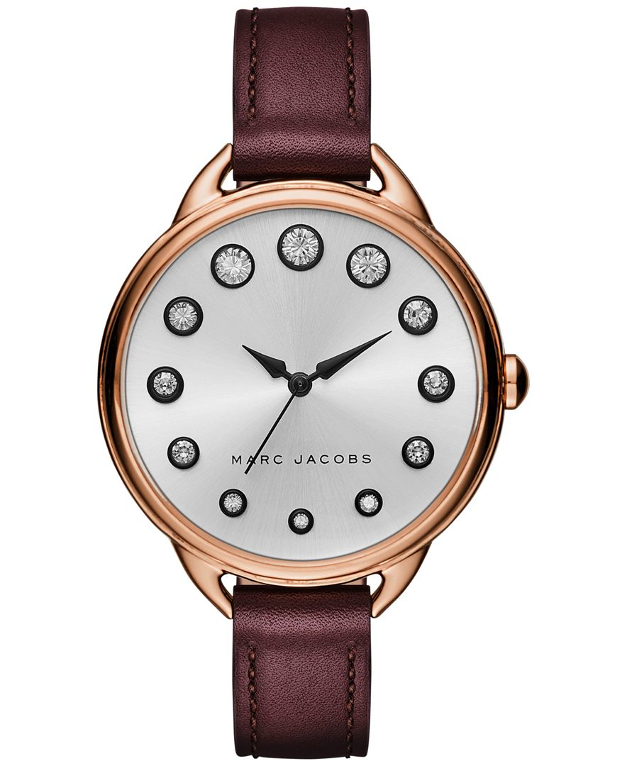 marc s betty oxblood leather 36mm