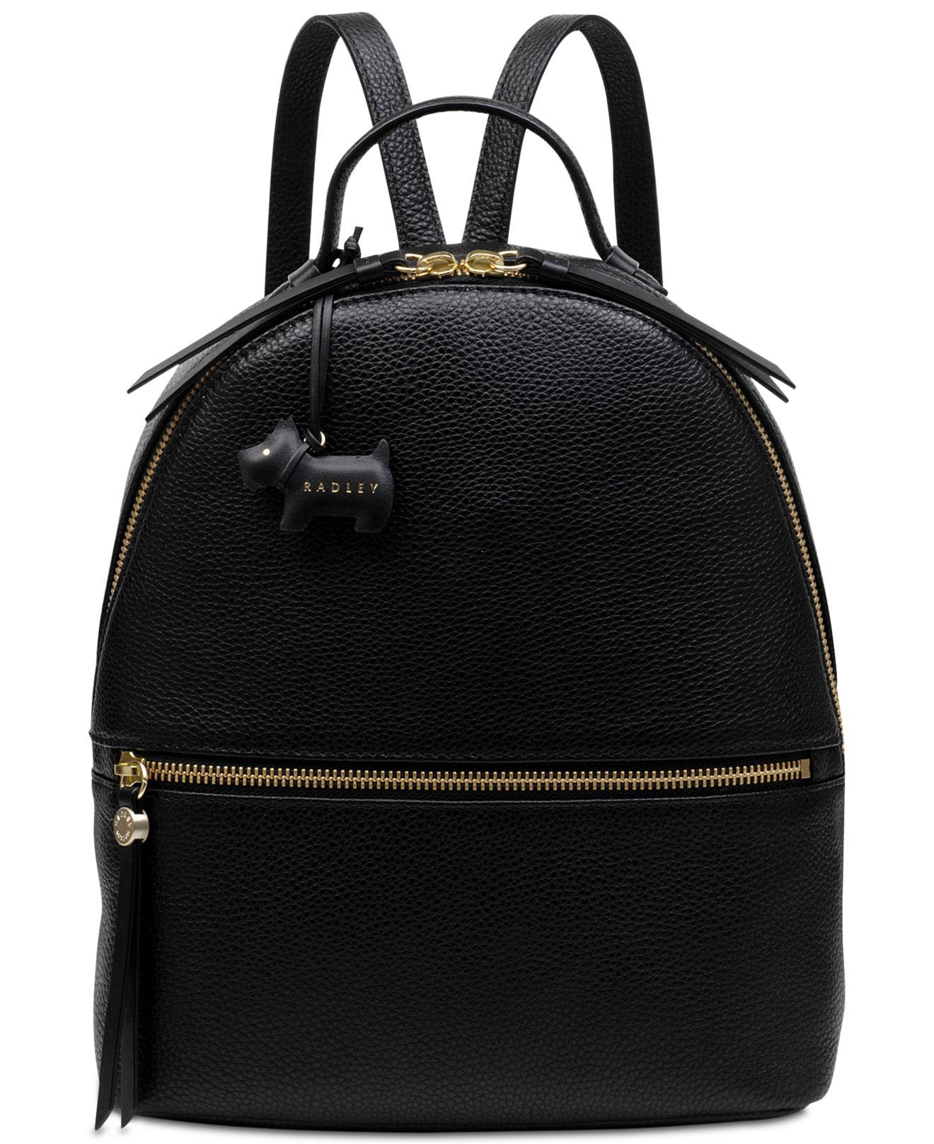 Radley. Women s Black Fountain Road Leather Backpack.  275 From Macy s. Free  shipping ... 94e1564d33