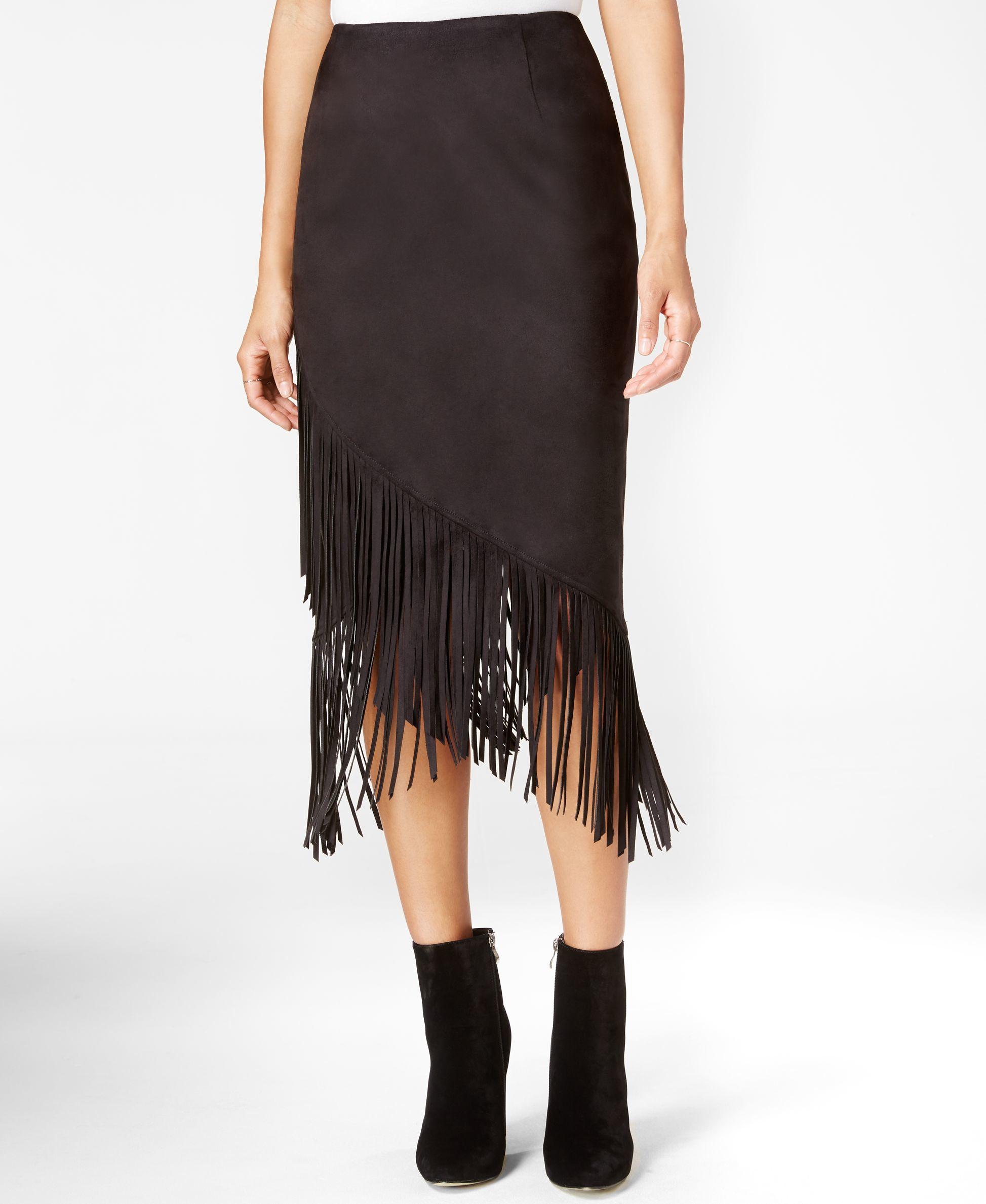 roy fringe crossover skirt only at macy s