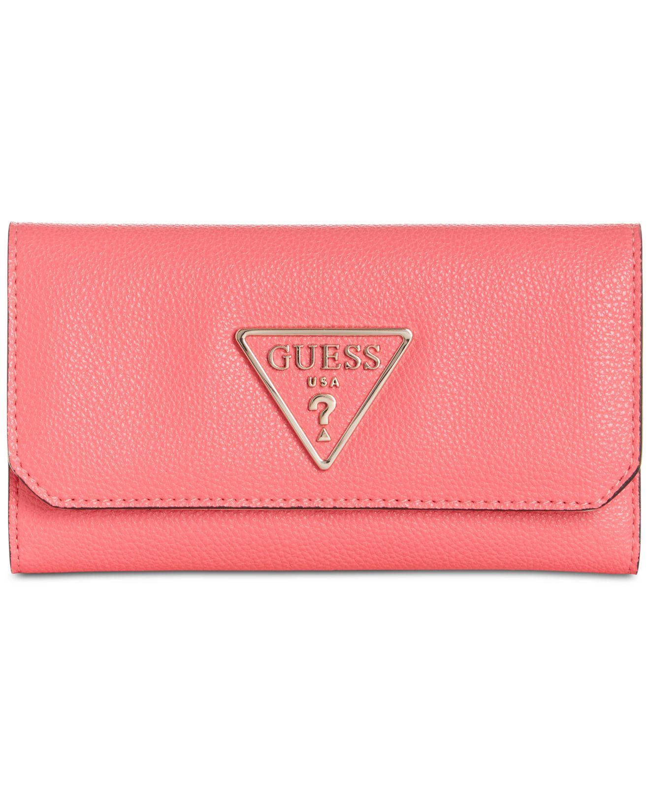 73c6d9cb450 Lyst - Guess G Legend Boxed Clutch Wallet in Pink