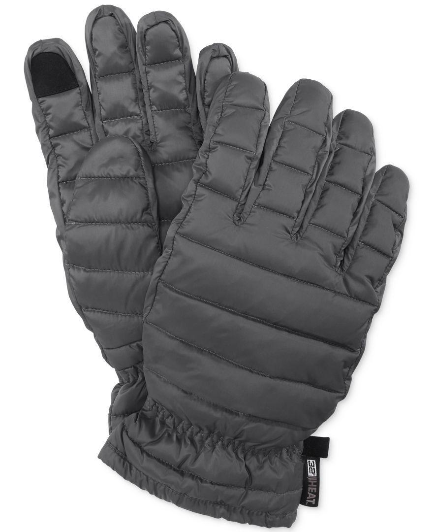 Mens down gloves - 32 Degrees Gray Men S Packable Down Gloves