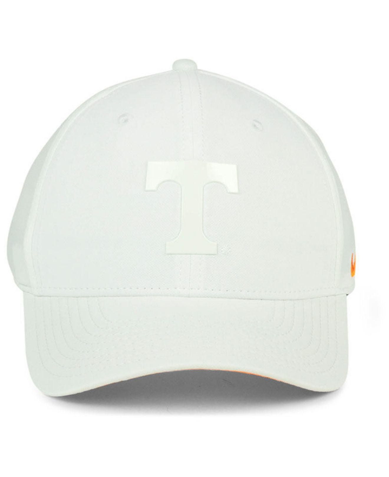 online store f79fe 91483 ... performance hat 3 46ee7 648cd  promo code for lyst nike tennessee  volunteers col cap in white for men 2af0f c3f90