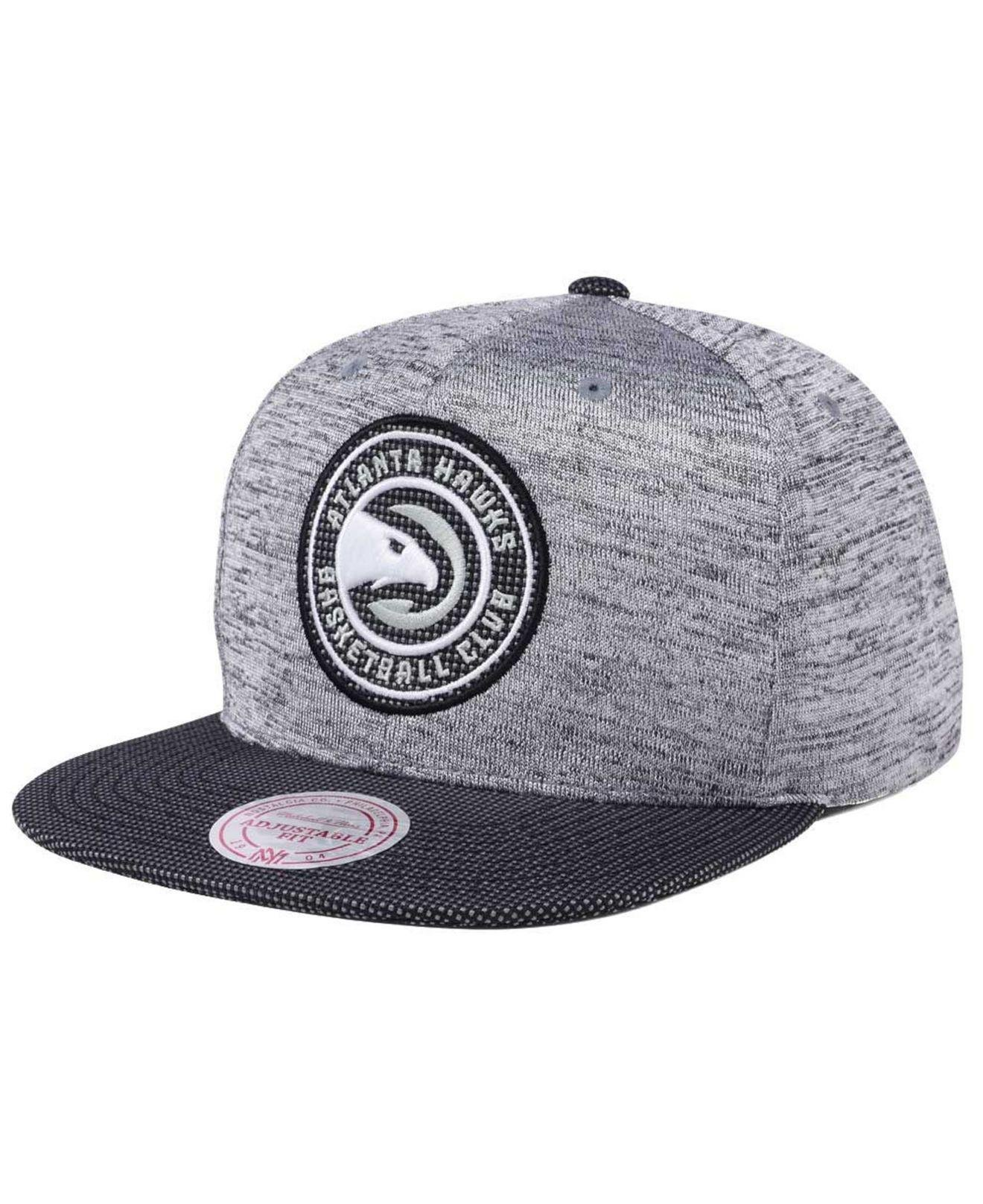 official photos 697d1 b8ff6 Mitchell   Ness. Women s Gray Space Knit Snapback Cap