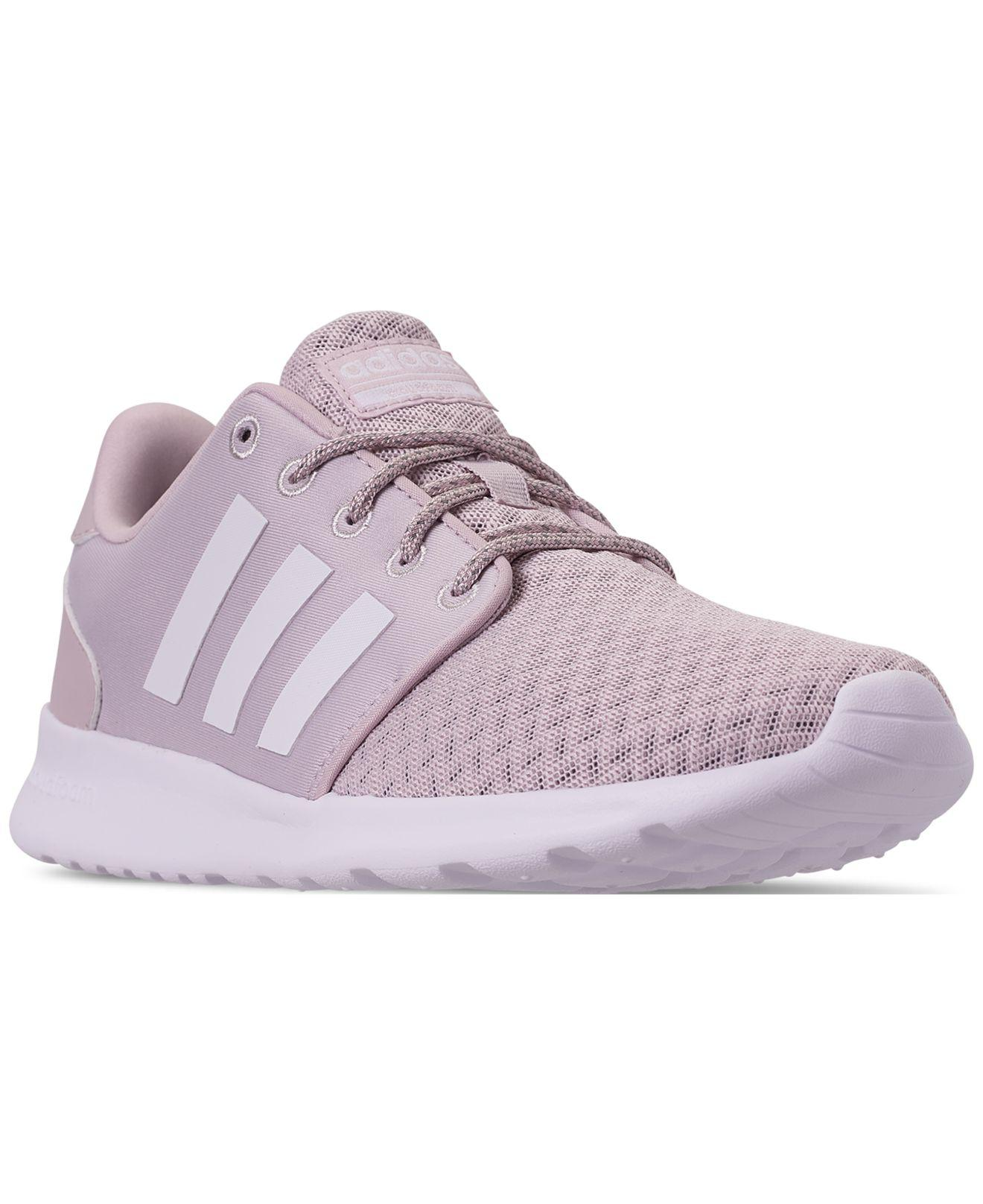 102b6a1b50af07 Lyst - adidas Cloudfoam Qt Racer Casual Sneakers From Finish Line in ...