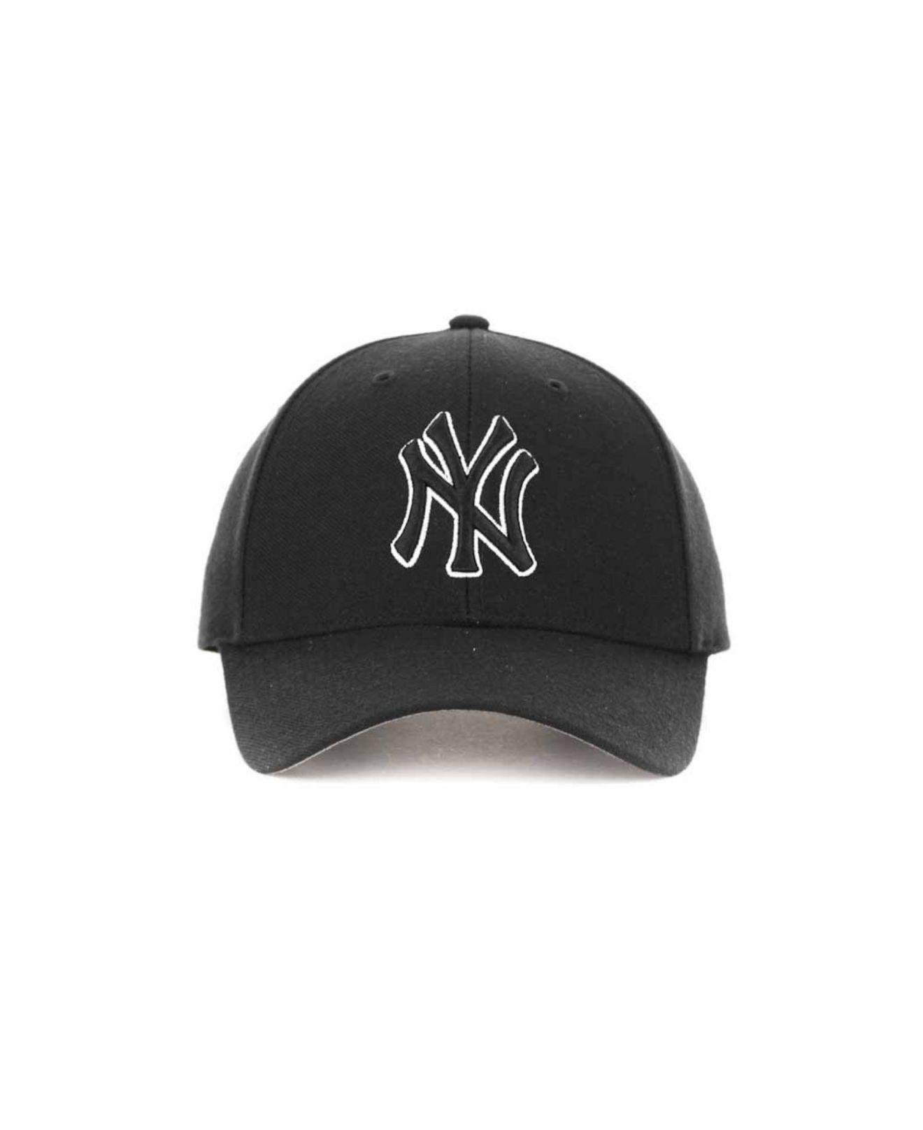 new product 61f65 cace0 ... usa lyst 47 brand new york yankees mvp curved cap in black 943e2 1262e