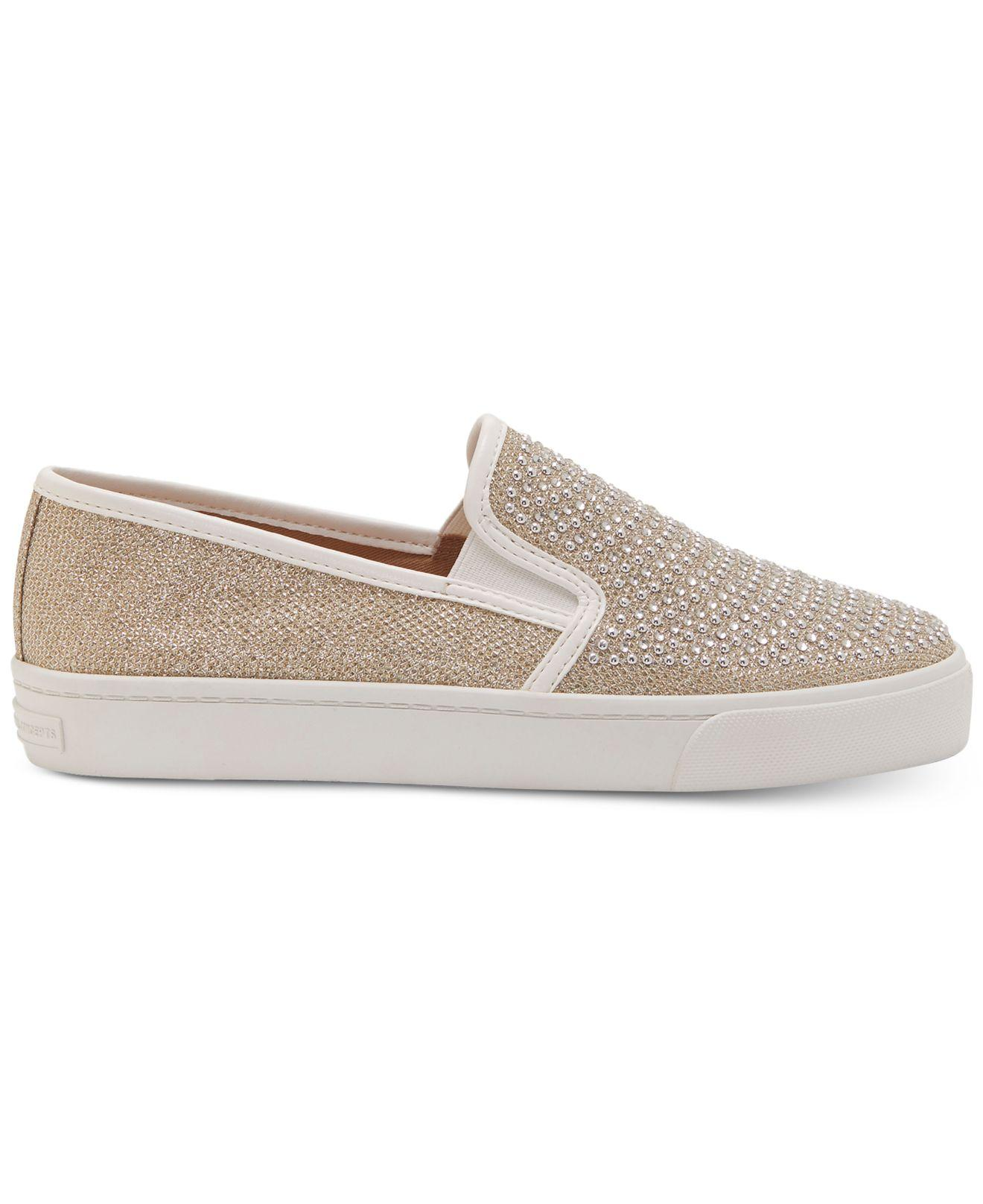 d5eb2253ccc Lyst - INC International Concepts Sammee Slip-on Sneakers in Metallic - Save  52%