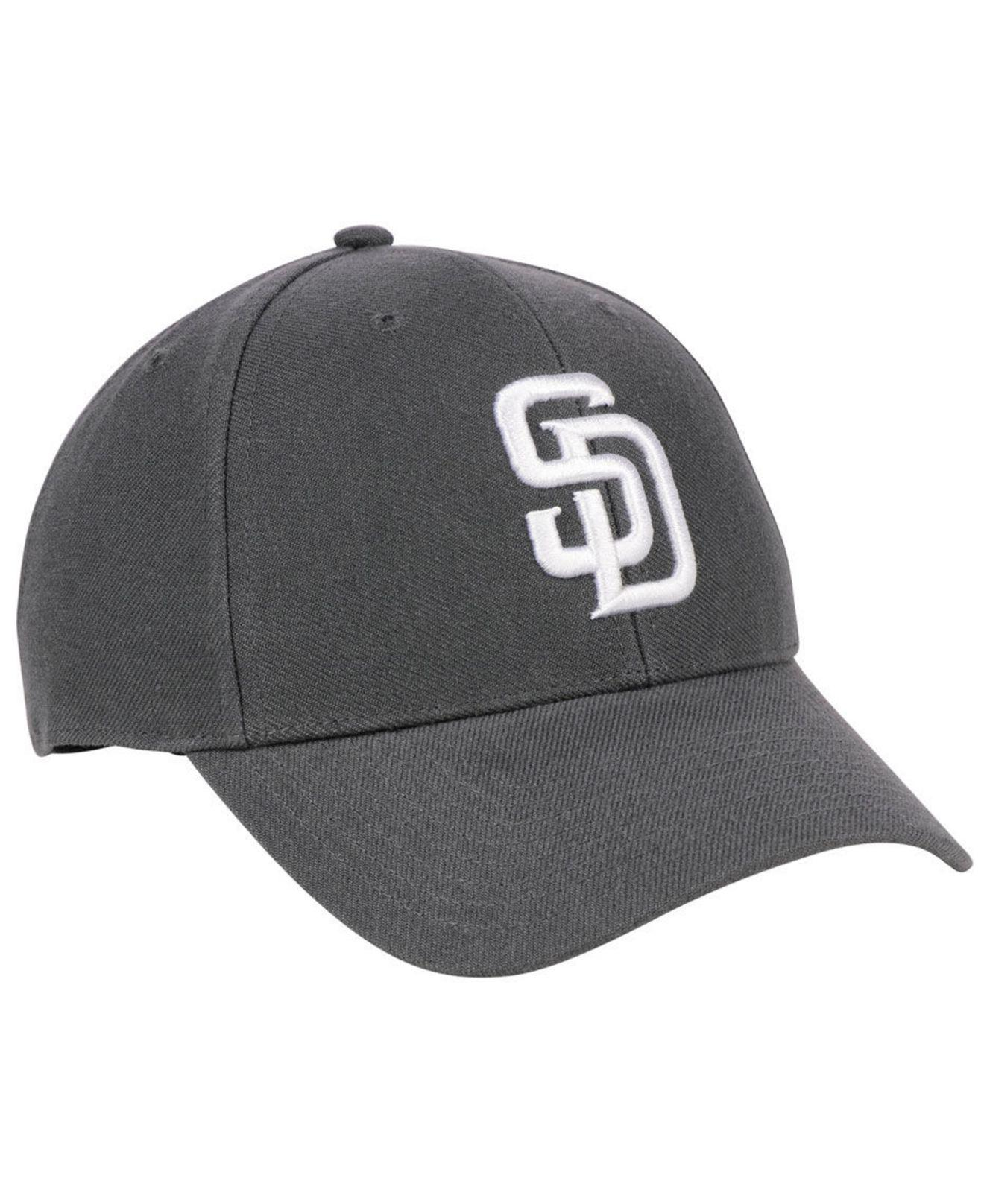 new arrival 16e00 24c1c ... aliexpress 47 brand gray san diego padres charcoal mvp cap for men  lyst. view fullscreen
