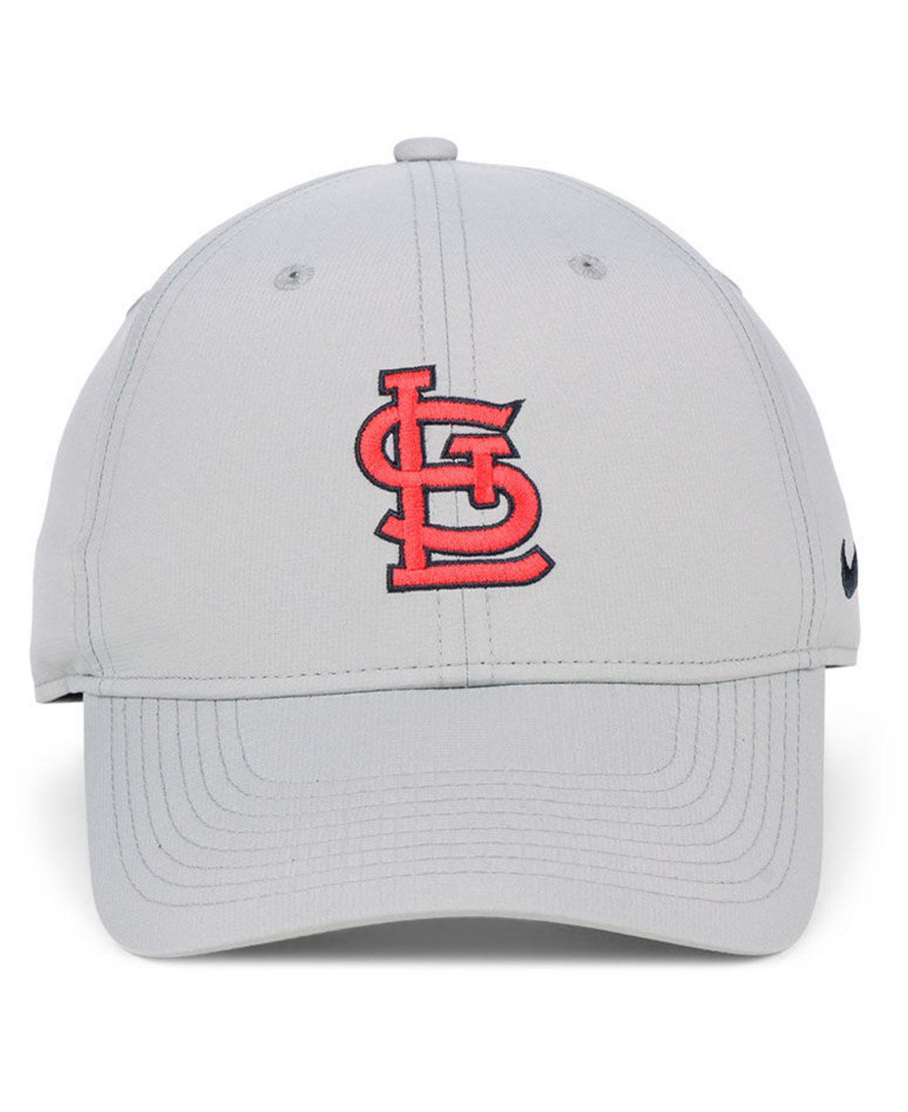 8c4128a0734d53 Lyst - Nike St. Louis Cardinals Legacy Performance Cap in Gray for Men
