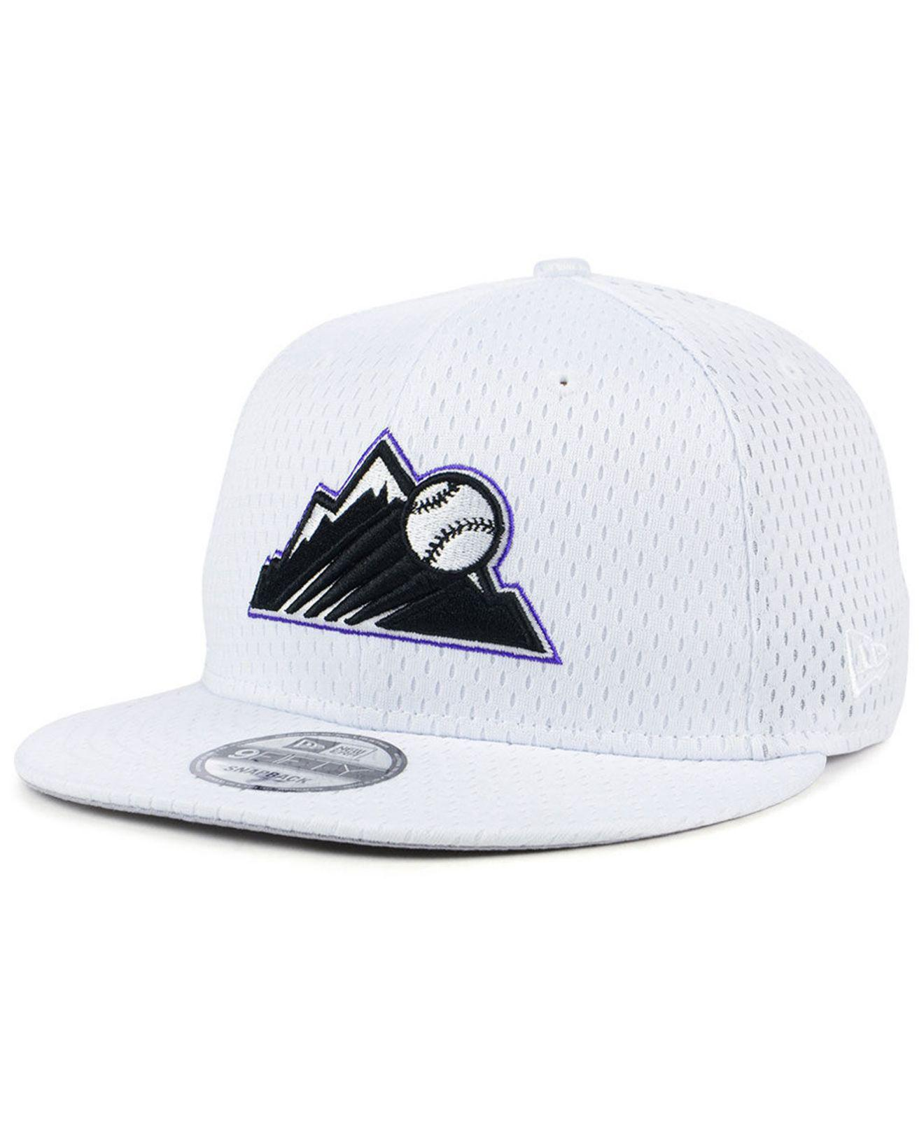 new concept 4faf0 ab89d ... black 2019 batting practice 59fifty fitted hat 369b8 2f5b1  australia lyst  ktz colorado rockies batting practice mesh 9fifty snapback 95562 91486
