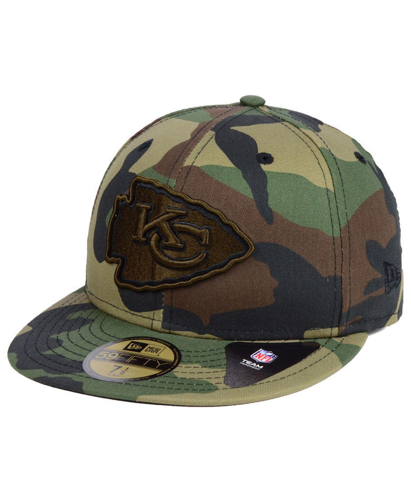 best loved fd342 ef112 KTZ - Green Kansas City Chiefs Woodland Prism Pack 59fifty-fitted Cap for  Men -. View fullscreen
