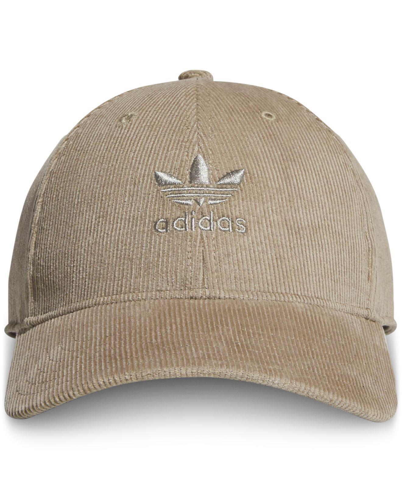Lyst - adidas Originals Relaxed Corduroy Cap for Men daf55250dd3