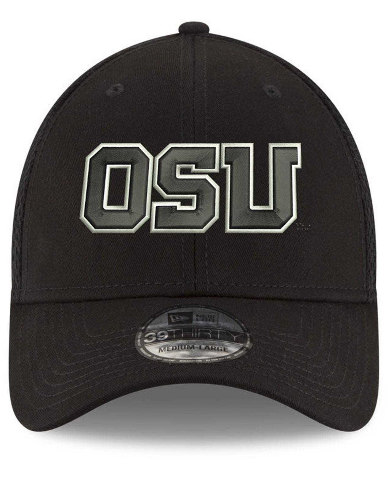 ae57c2cd00eb0 Lyst - KTZ Oregon State Beavers Black White Neo 39thirty Cap in Black for  Men