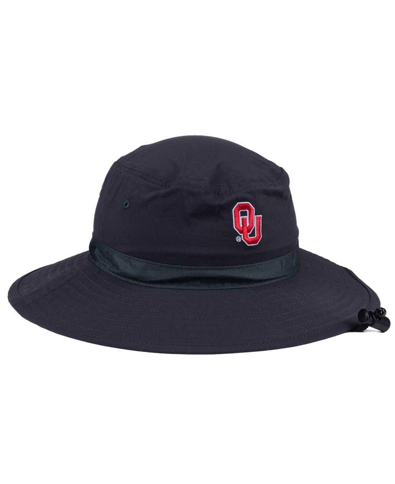 af259a39db5 Lyst - Nike Oklahoma Sooners Sideline Bucket Hat in Blue for Men